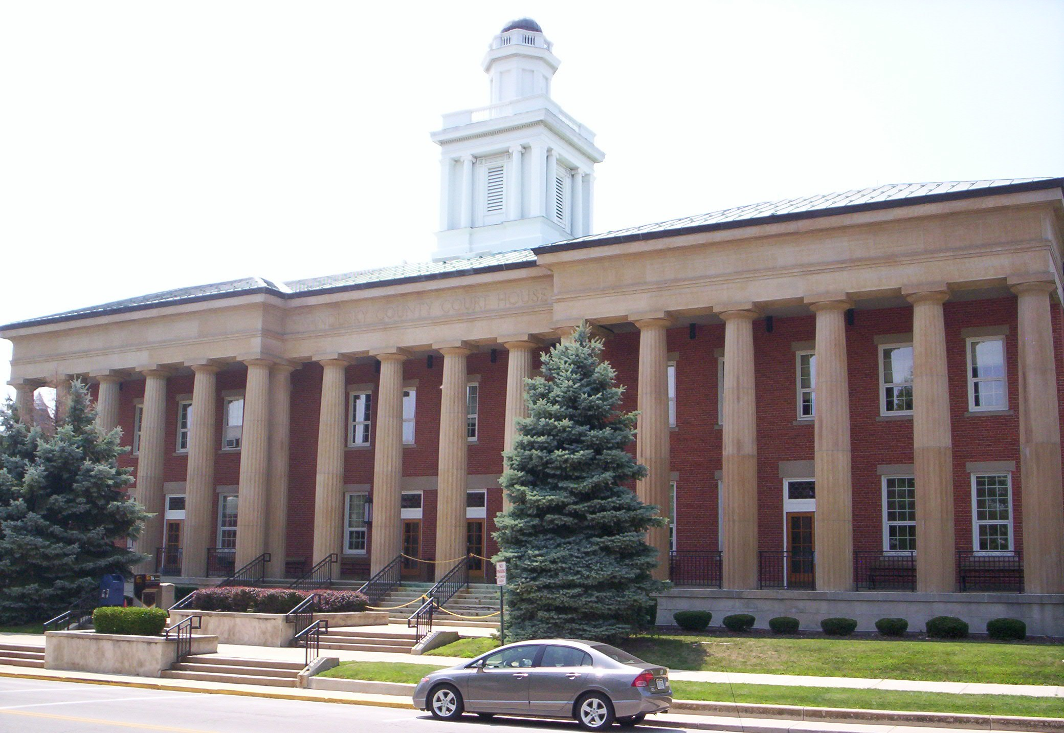 Sandusky County Courthouse in Fremont.
