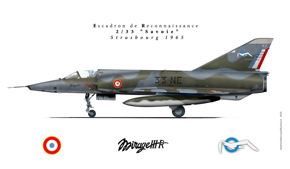A.M.D. Mirage III E/B/5, 1/72ème (kit # 80323 + 50323) Savoieweb