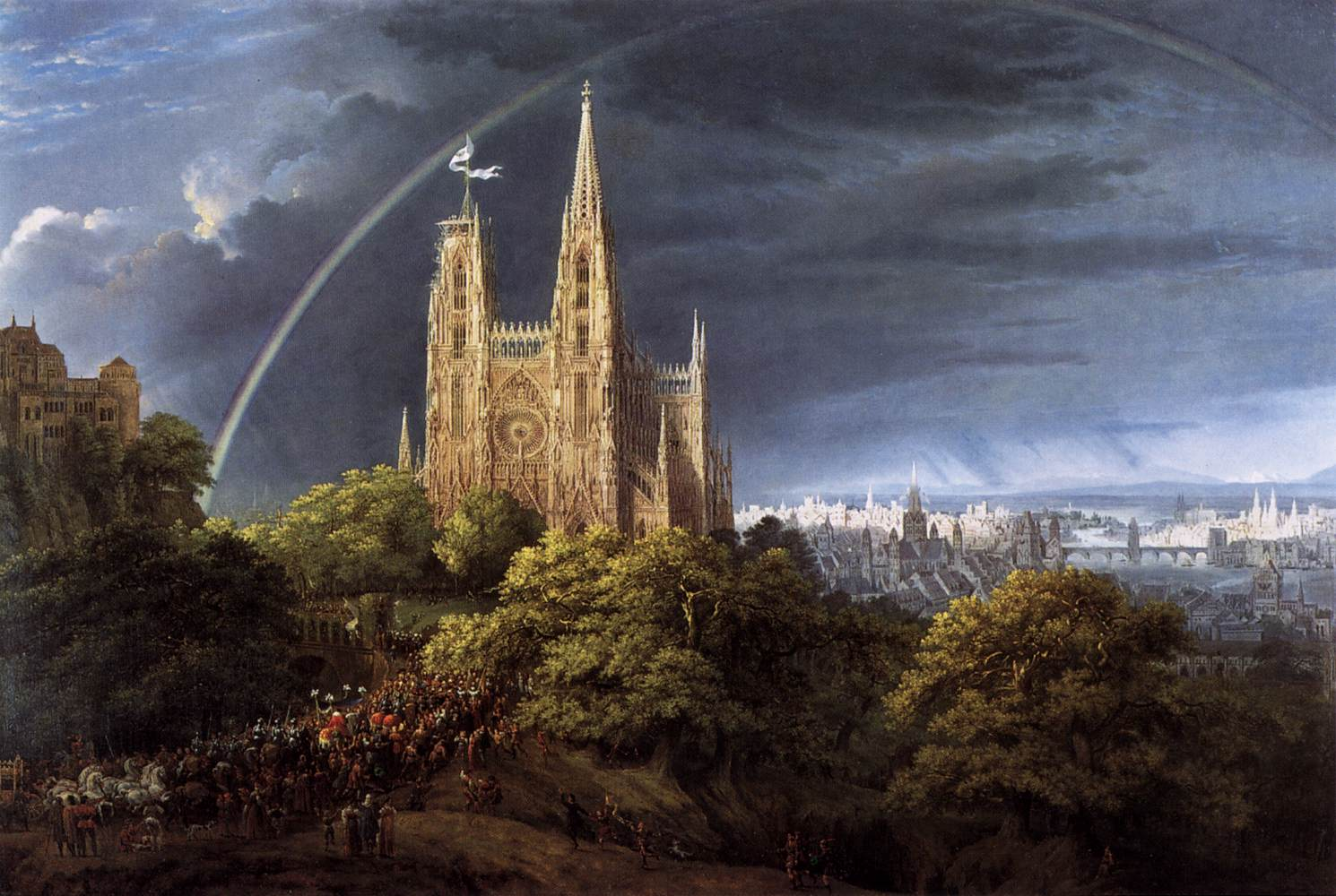 http://upload.wikimedia.org/wikipedia/commons/a/a0/Schinkel,_Karl_Friedrich_-_Gotische_Kirche_auf_einem_Felsen_am_Meer_-_1815.jpg