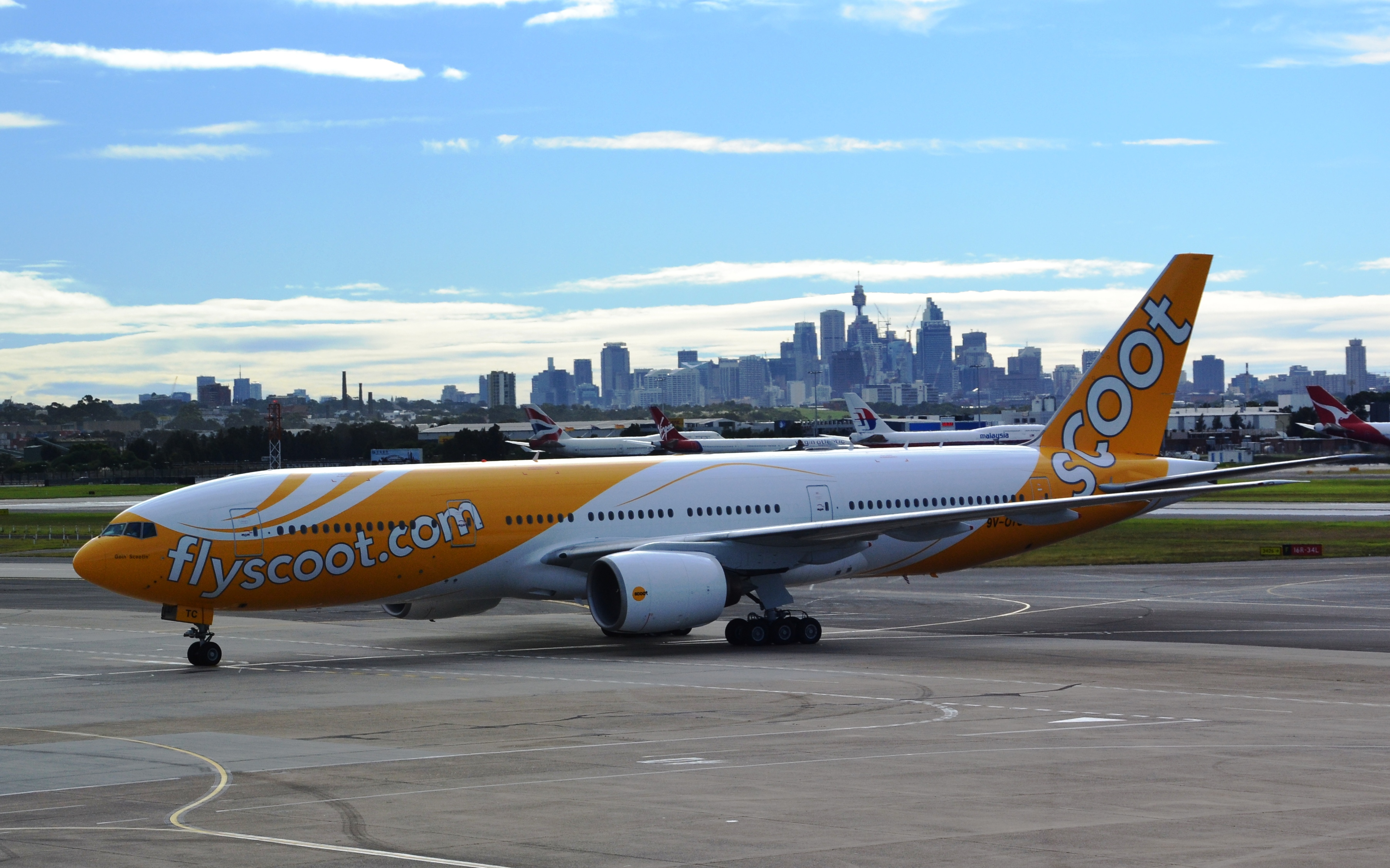 scoot airlines - photo #5