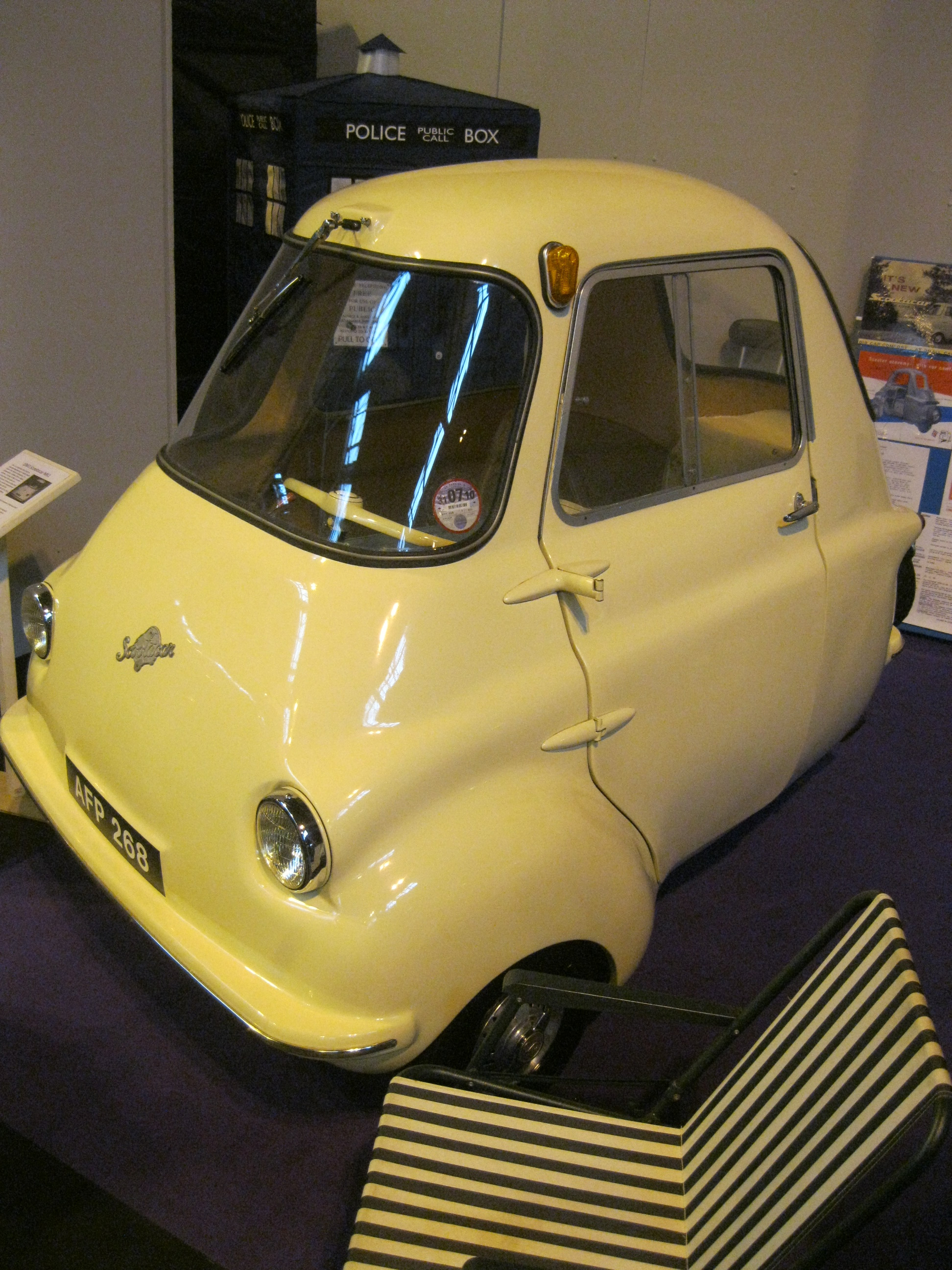 File Scootacar British Microcar Built In Leedsby A Division Of