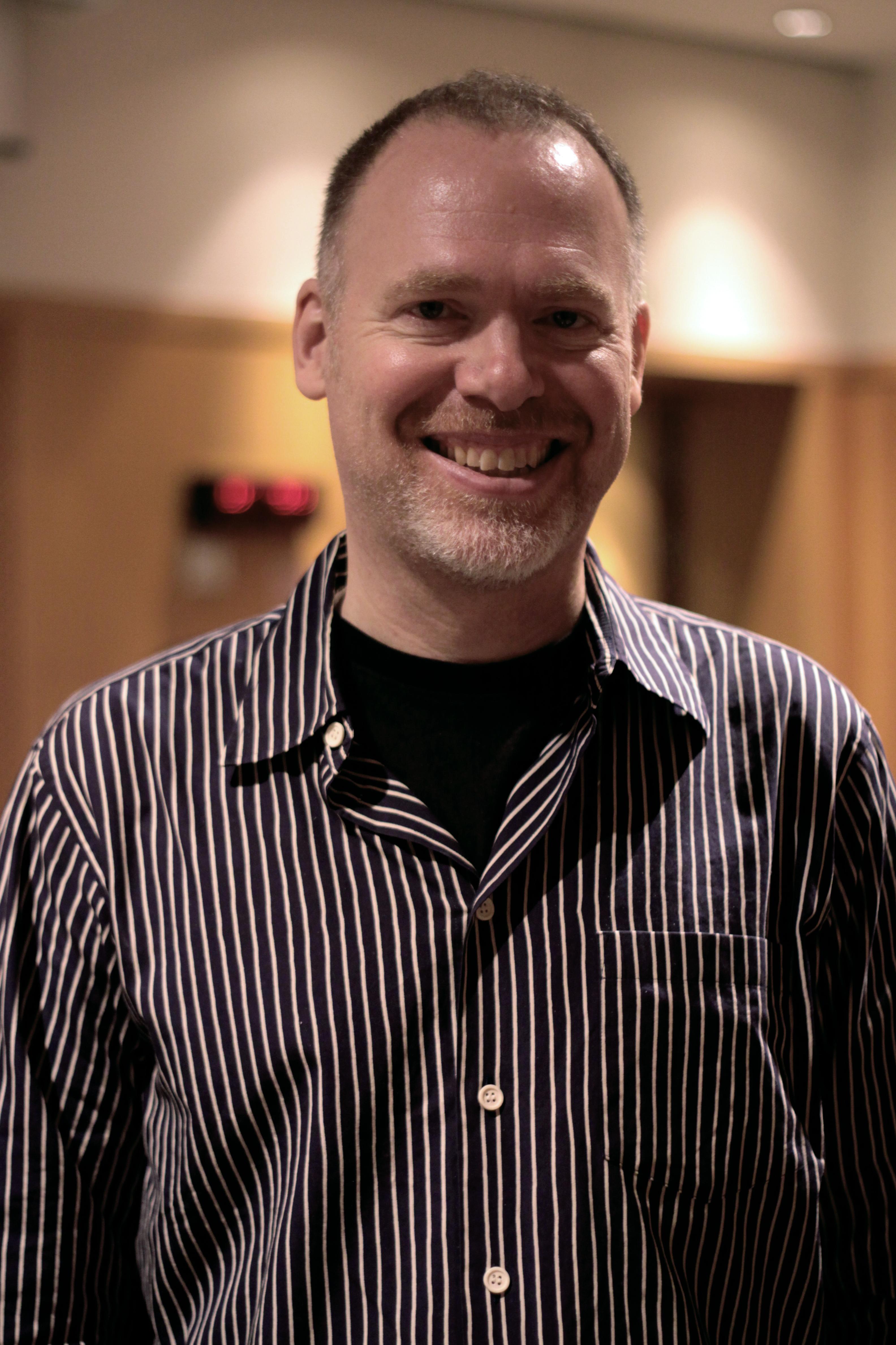Depiction of Scott Westerfeld