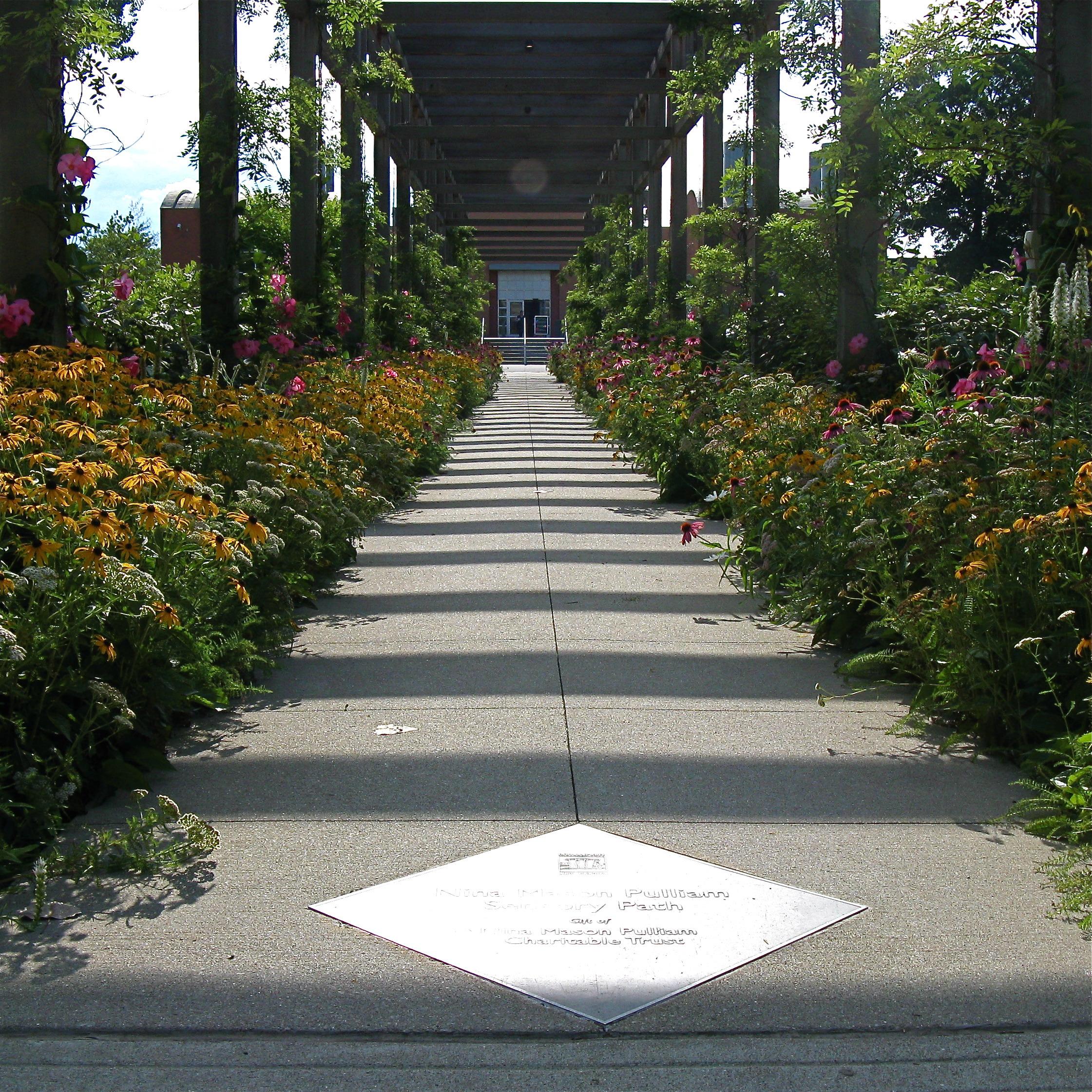 Sensory path at the Indianapolis Art Center