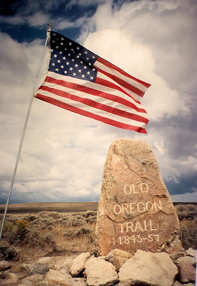 Route of the Oregon Trail  Wikipedia