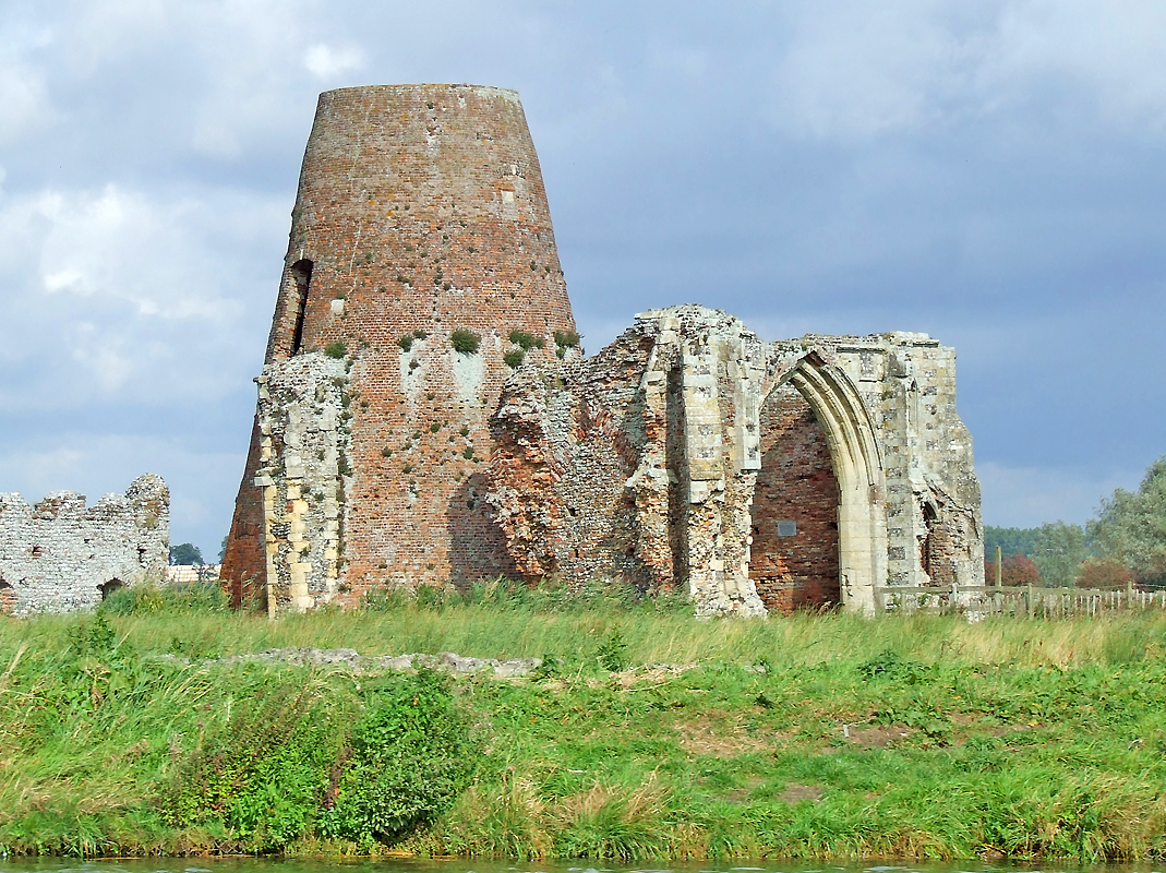 St Benet's Abbey in Norfolk, the only monastery in England not to be formally dissolved.
