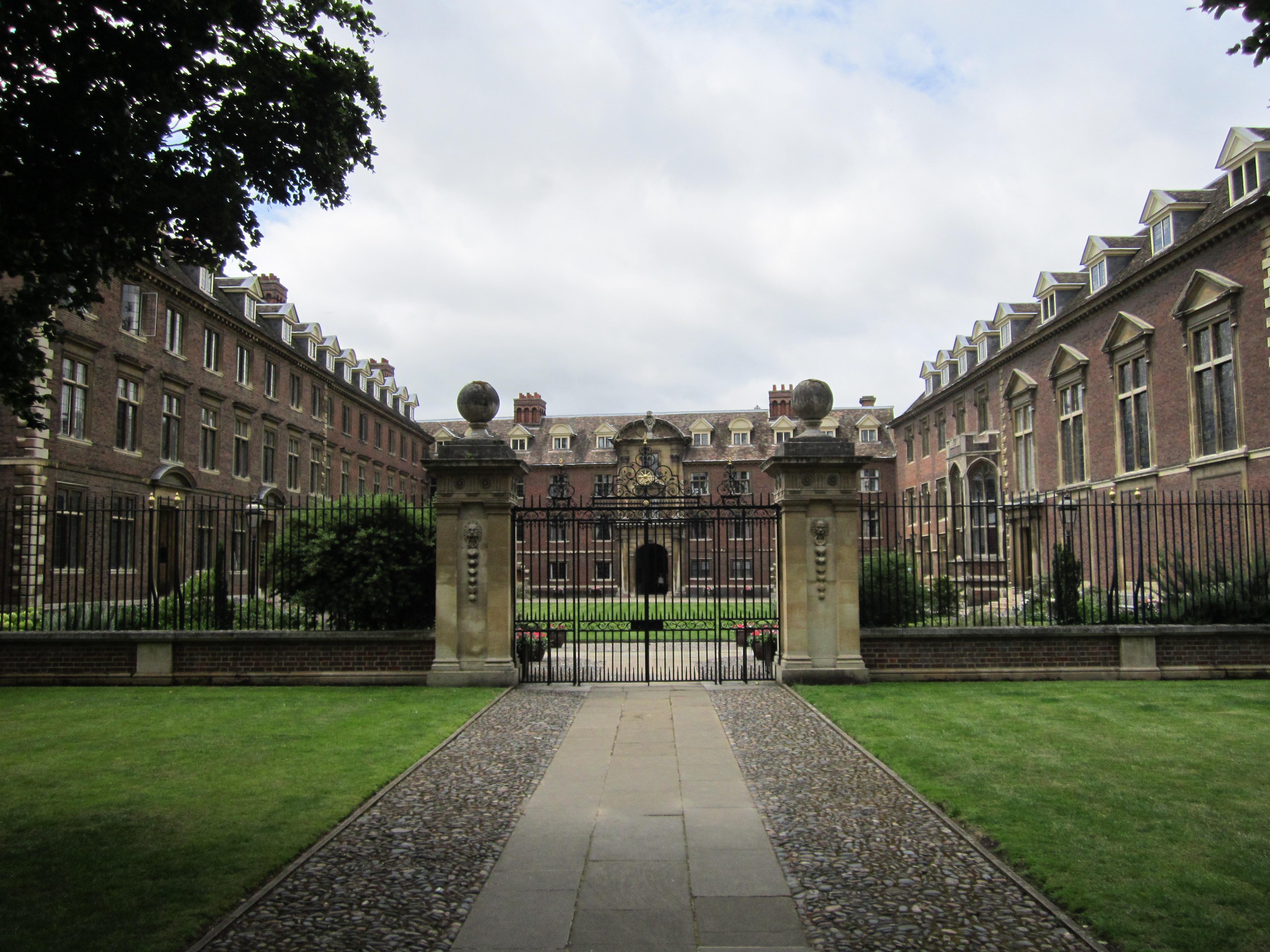 St Catharine's College, Cambridge, England - IMG 0686.jpg