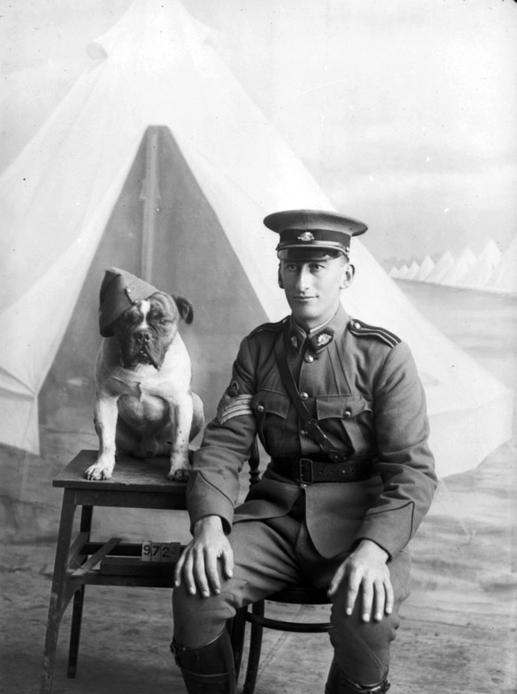 File Staff Sergeant Major Morgan And Dog 1915 3527159112