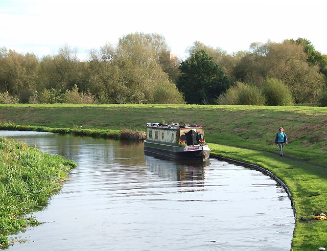 Staffordshire and Worcestershire Canal north of Kidderminster - geograph.org.uk - 1024548