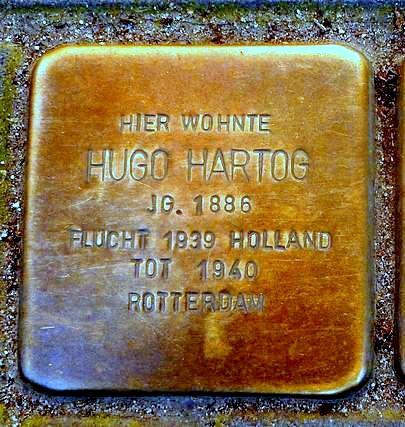 Stolperstein Hugo Hartog - Aachen.JPG