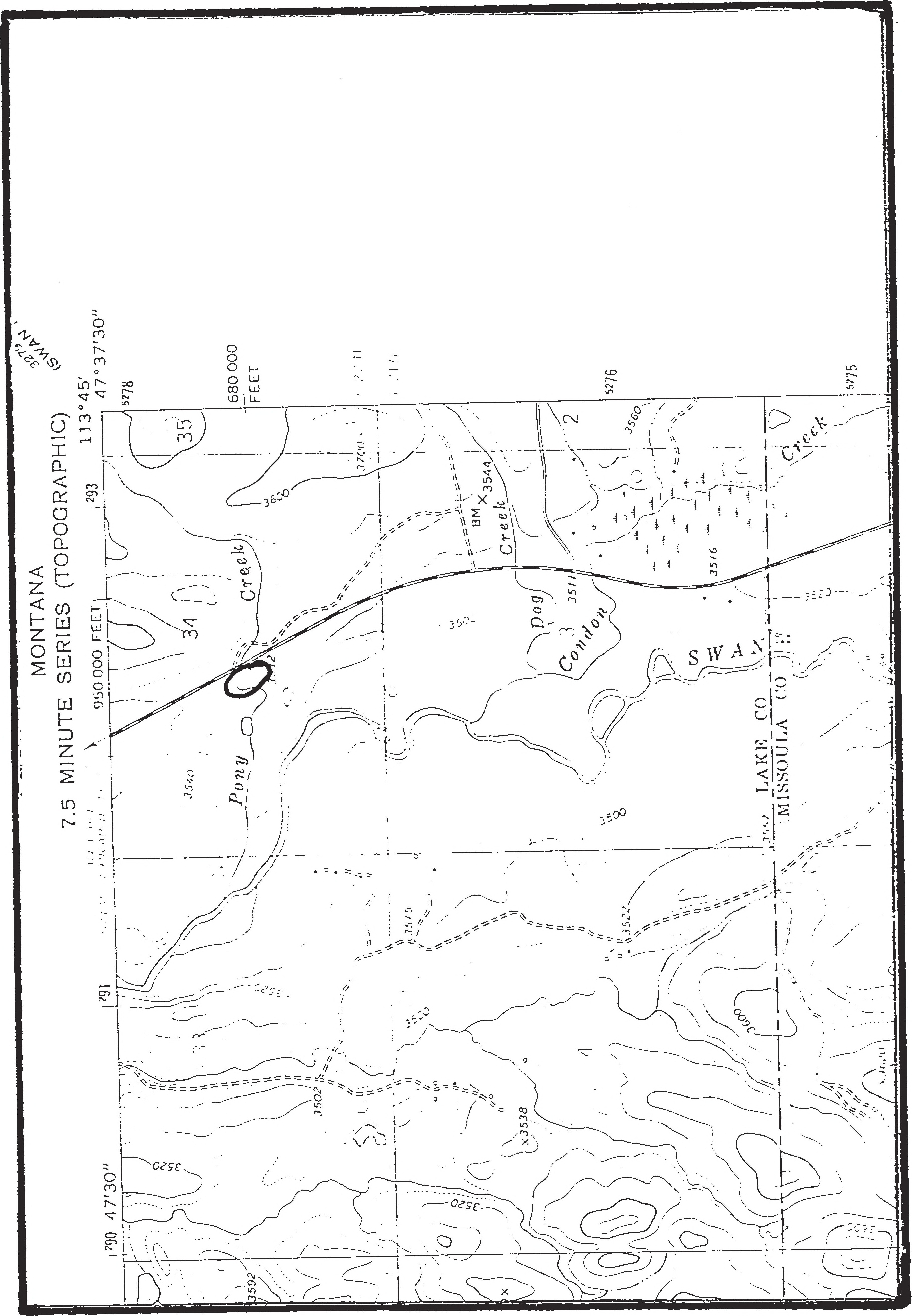 Swan Valley Montana Map.File Swan Valley Northern Bog Lemming Survey Final Report To