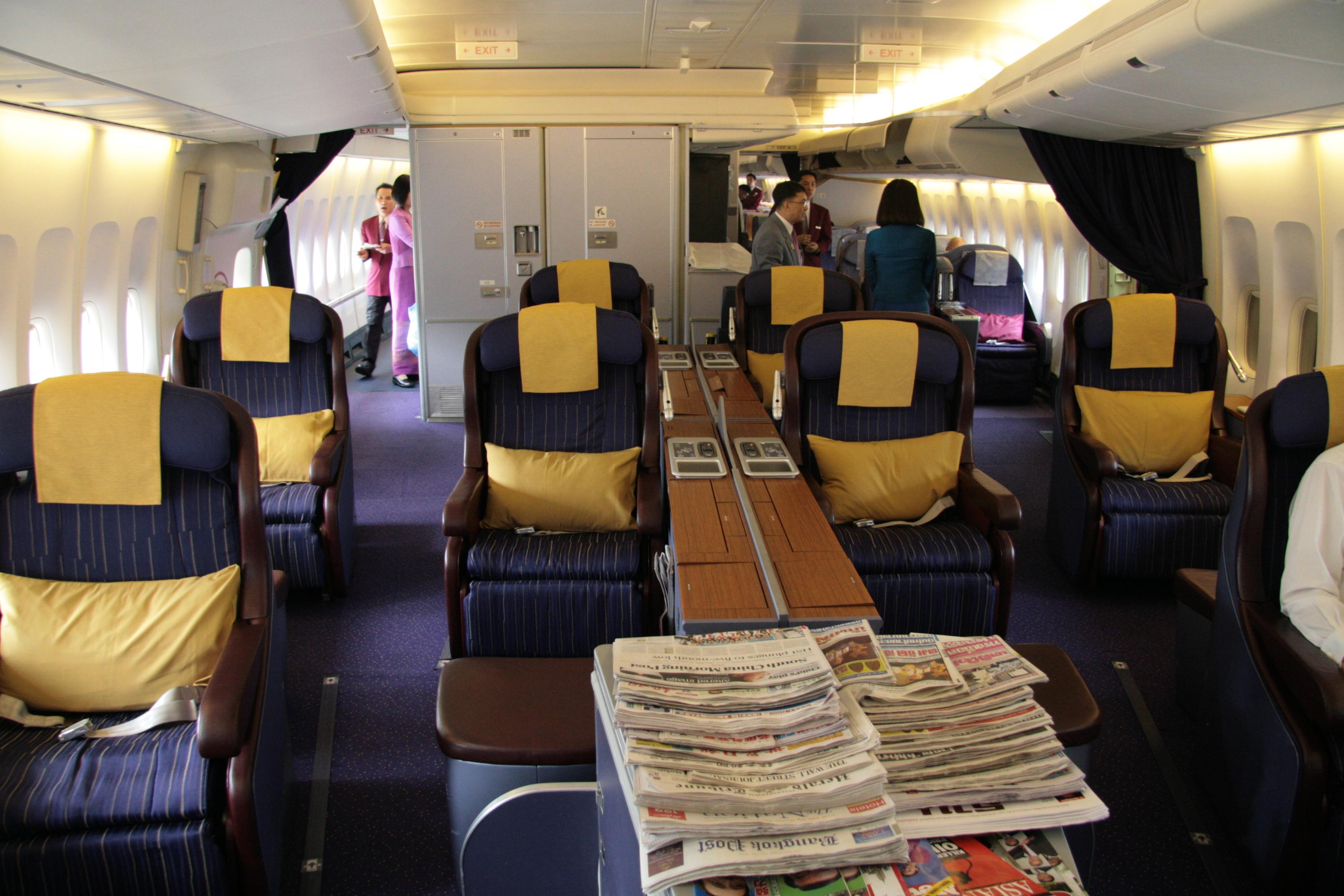 Boeing 747 Thai Airways Boeing 747-400 Der Thai