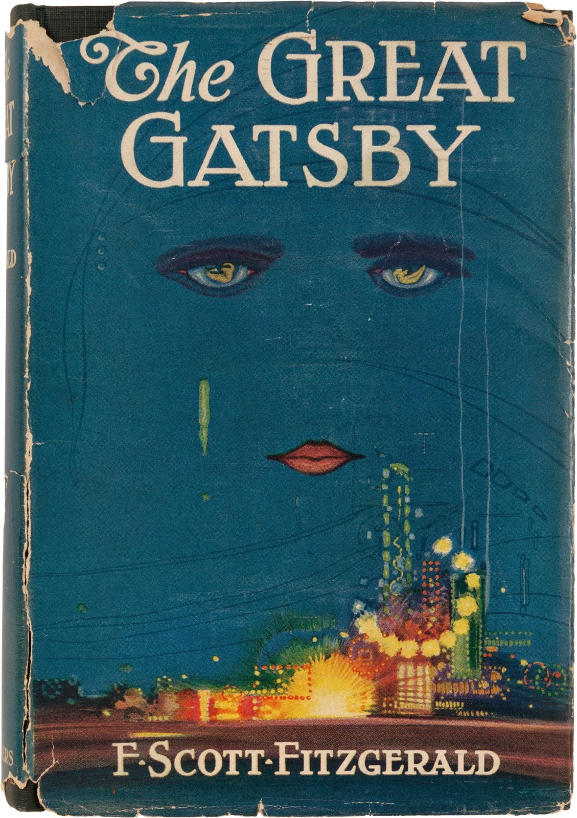 blue great gatsby