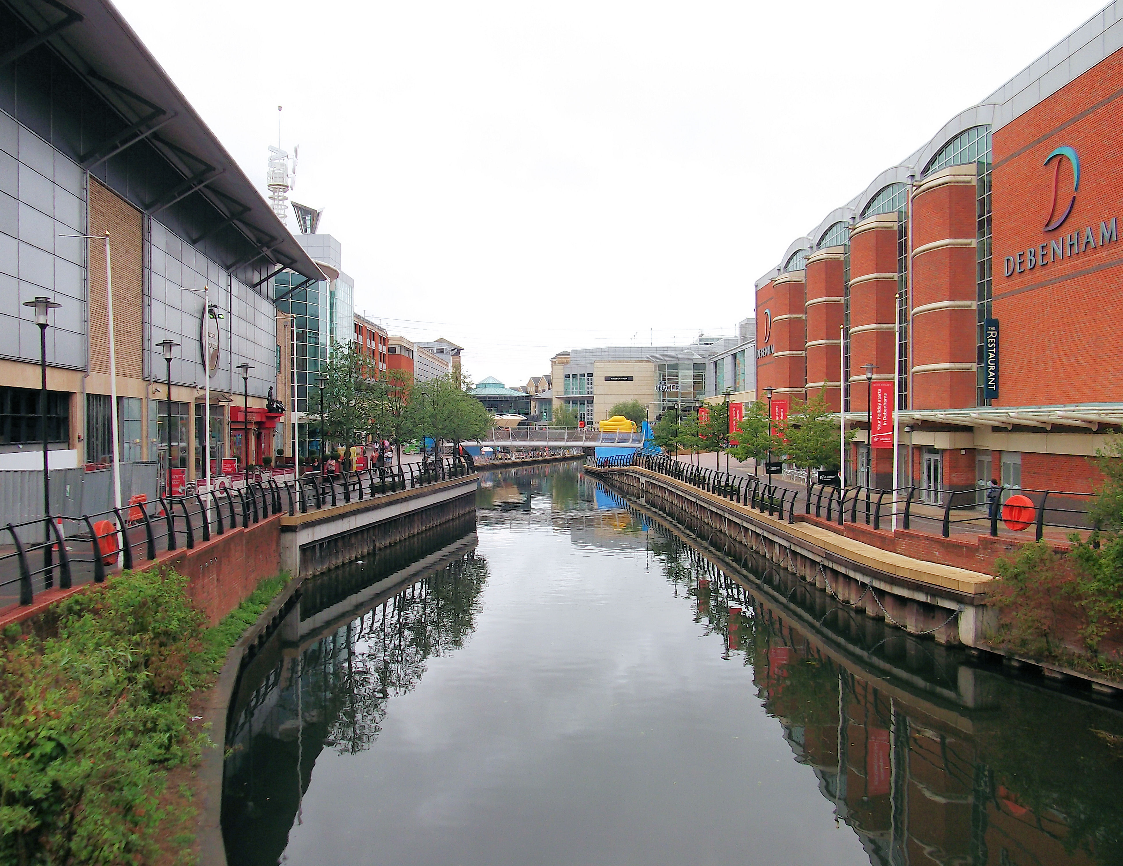 File the river kennet flowing through the oracle shopping for The berkshire
