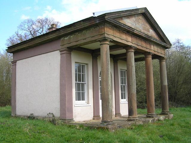The Roman Temple, Chillington Estate - geograph.org.uk - 664645