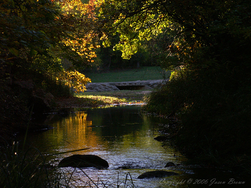File:Travertine creek fall evening.jpg