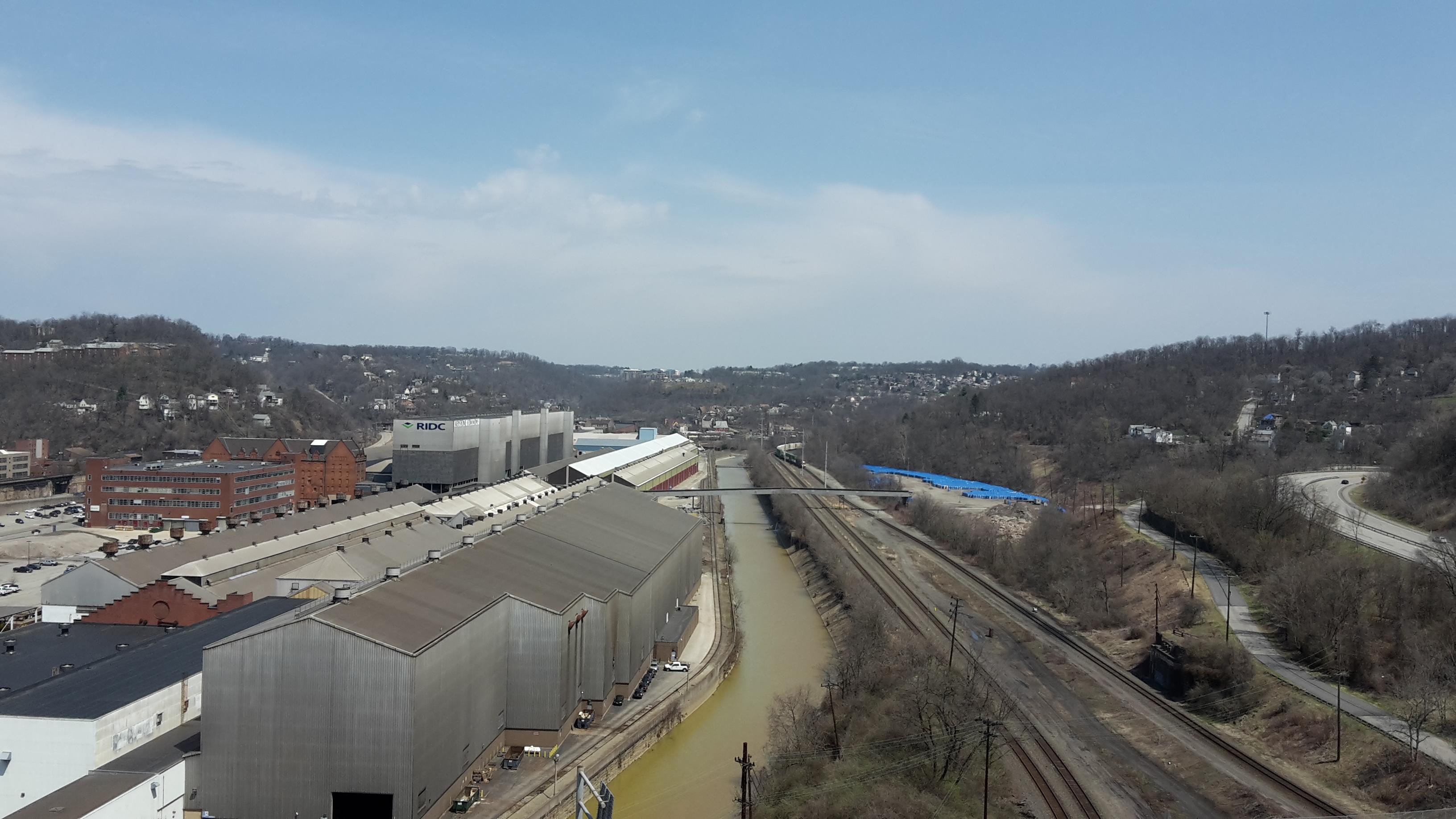 File:TurtleCreek from George Westinghouse Bridge April 2018.jpg