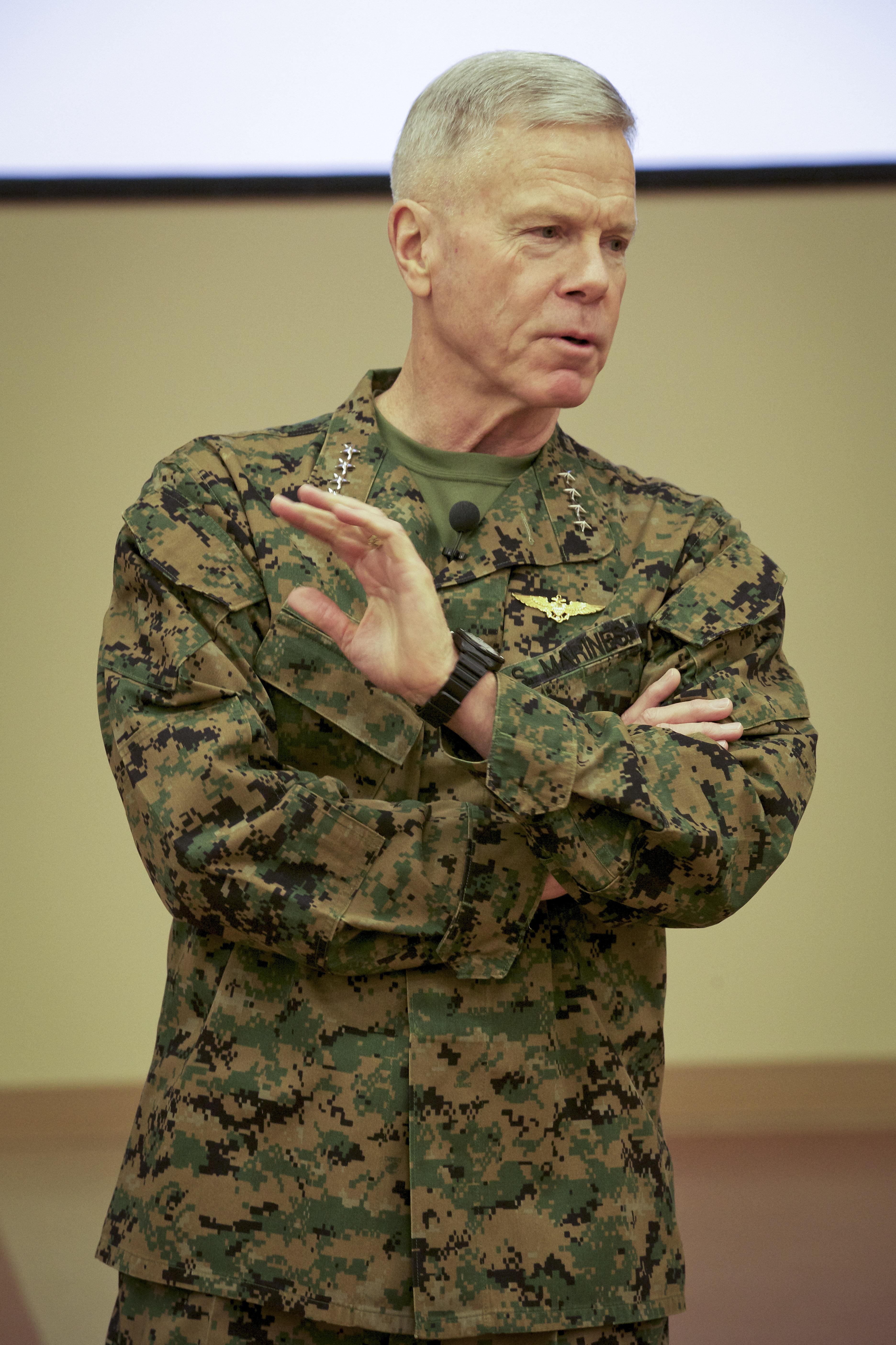 File:U.S. Marine Corps Gen. James F. Amos, the commandant ...