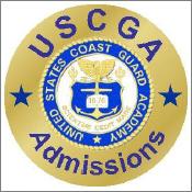 USCG Admissions Badge