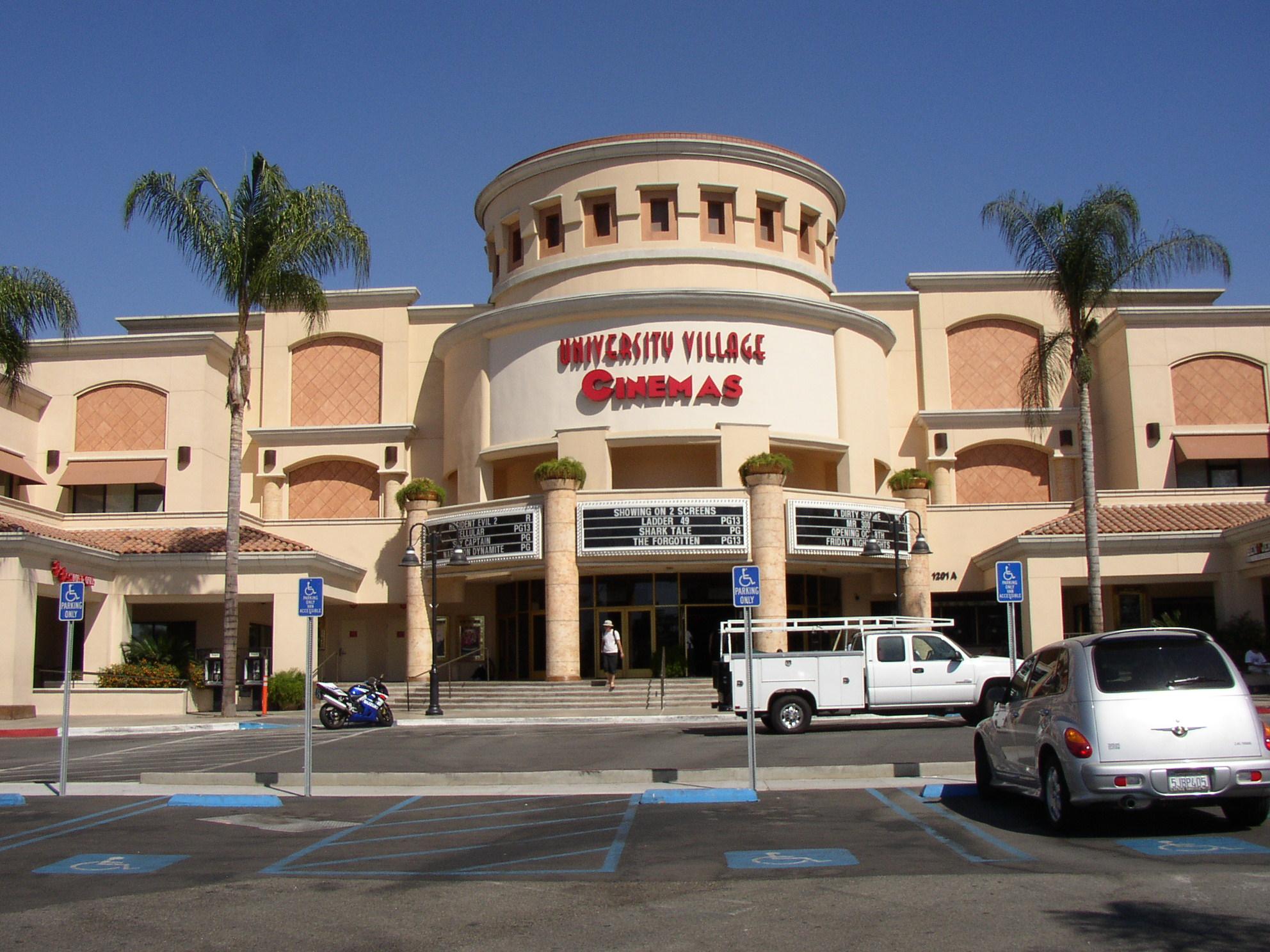 University  Cinemas Restaurant Menu