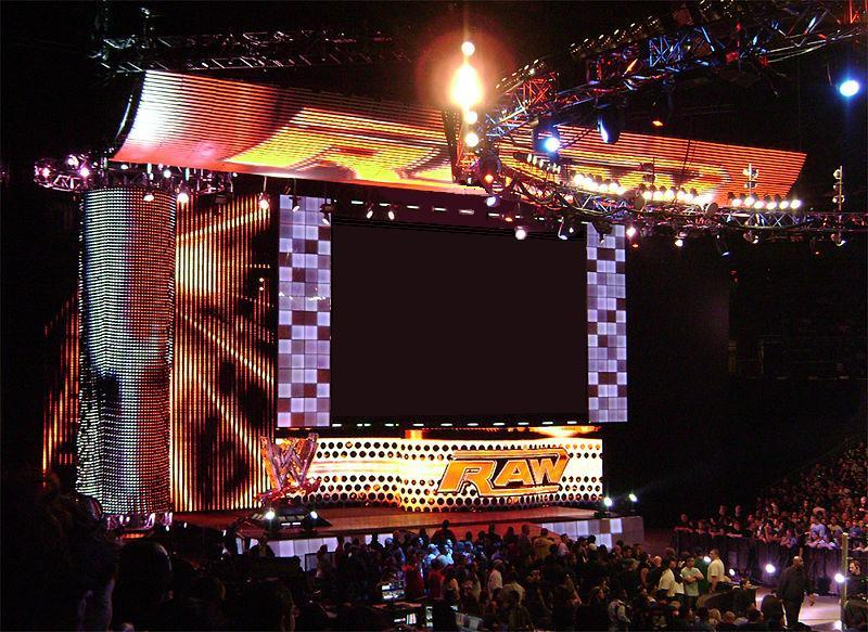 which wwe titantron set you like the most wrestlezone