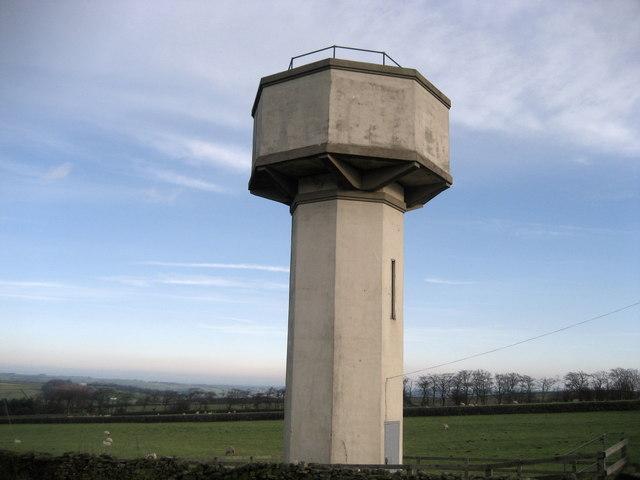 Water Tower, Thruscross - geograph.org.uk - 281645