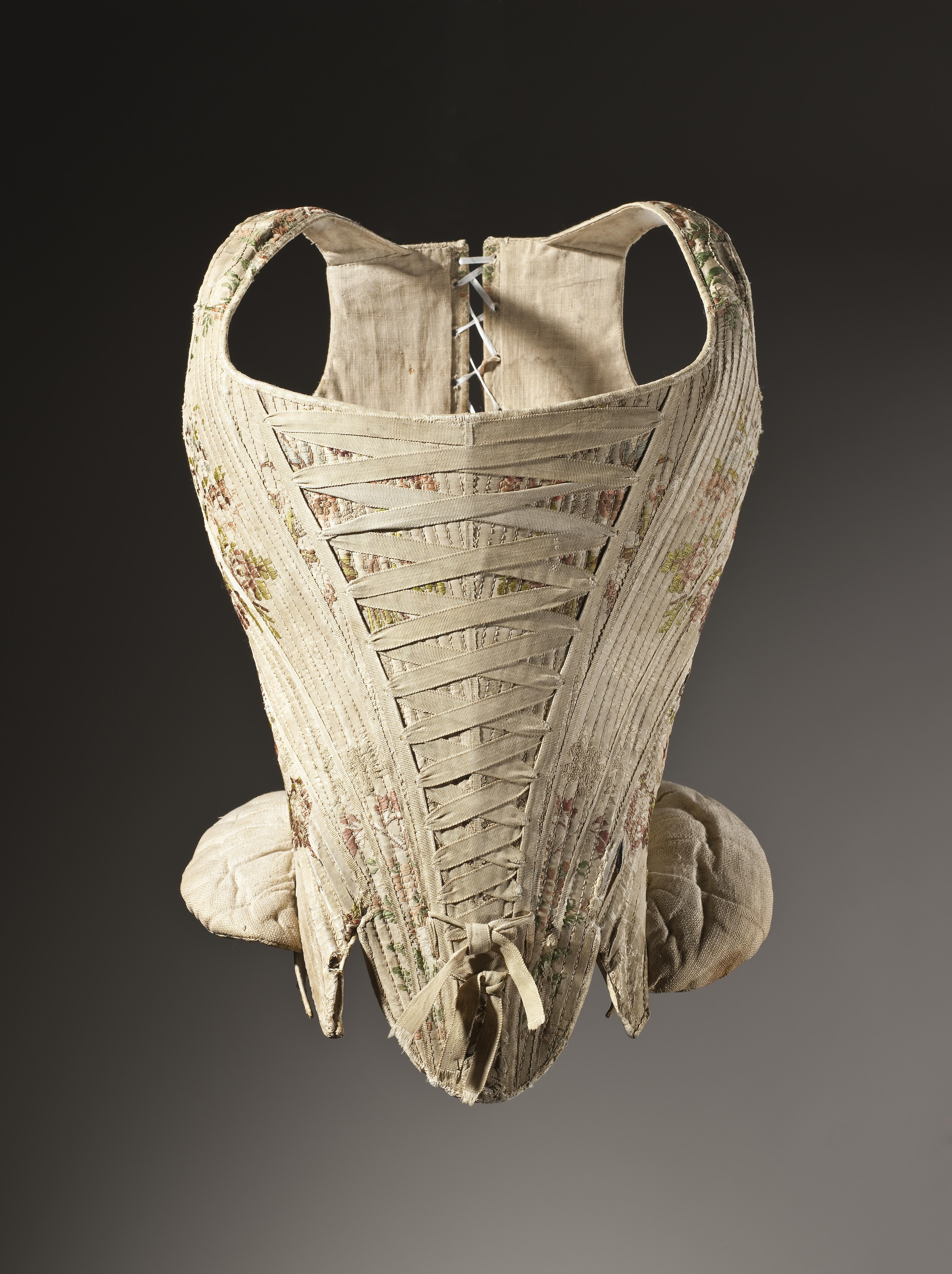 Woman's corset (1730–1740).