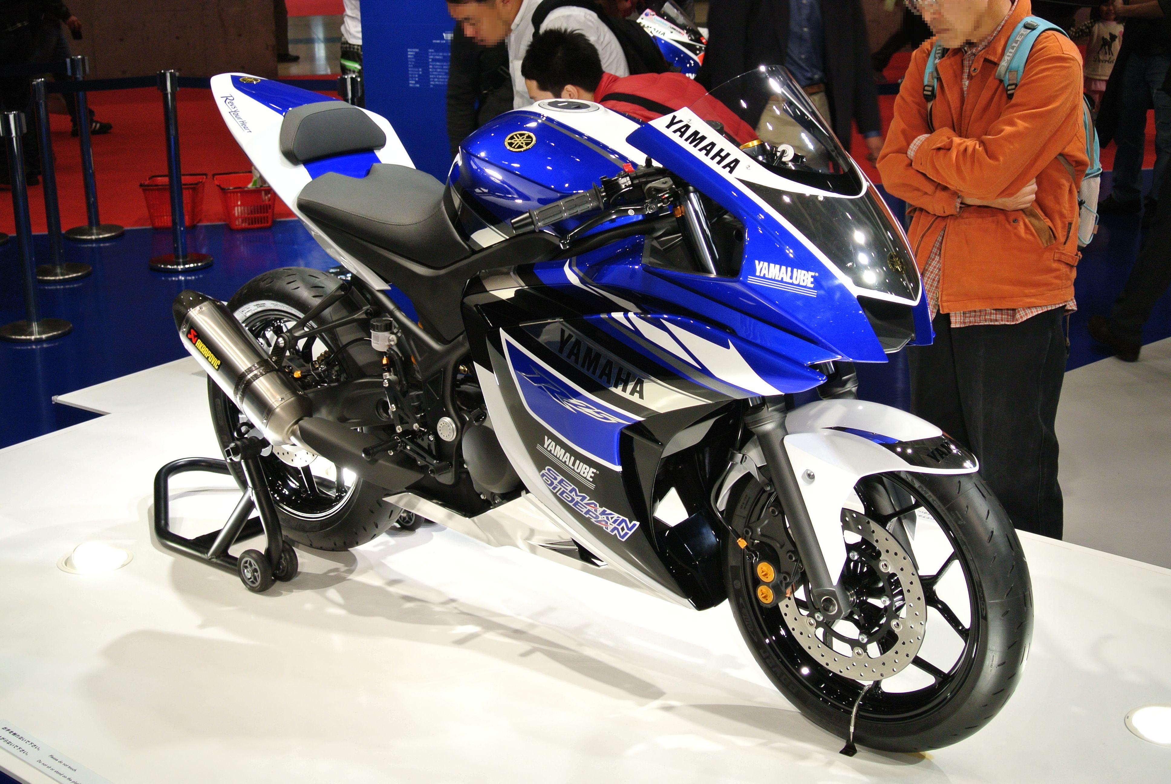 Berkas Yamaha Yzf R25 Tokyo Motor Show 2013 Jpg Wikipedia Bahasa