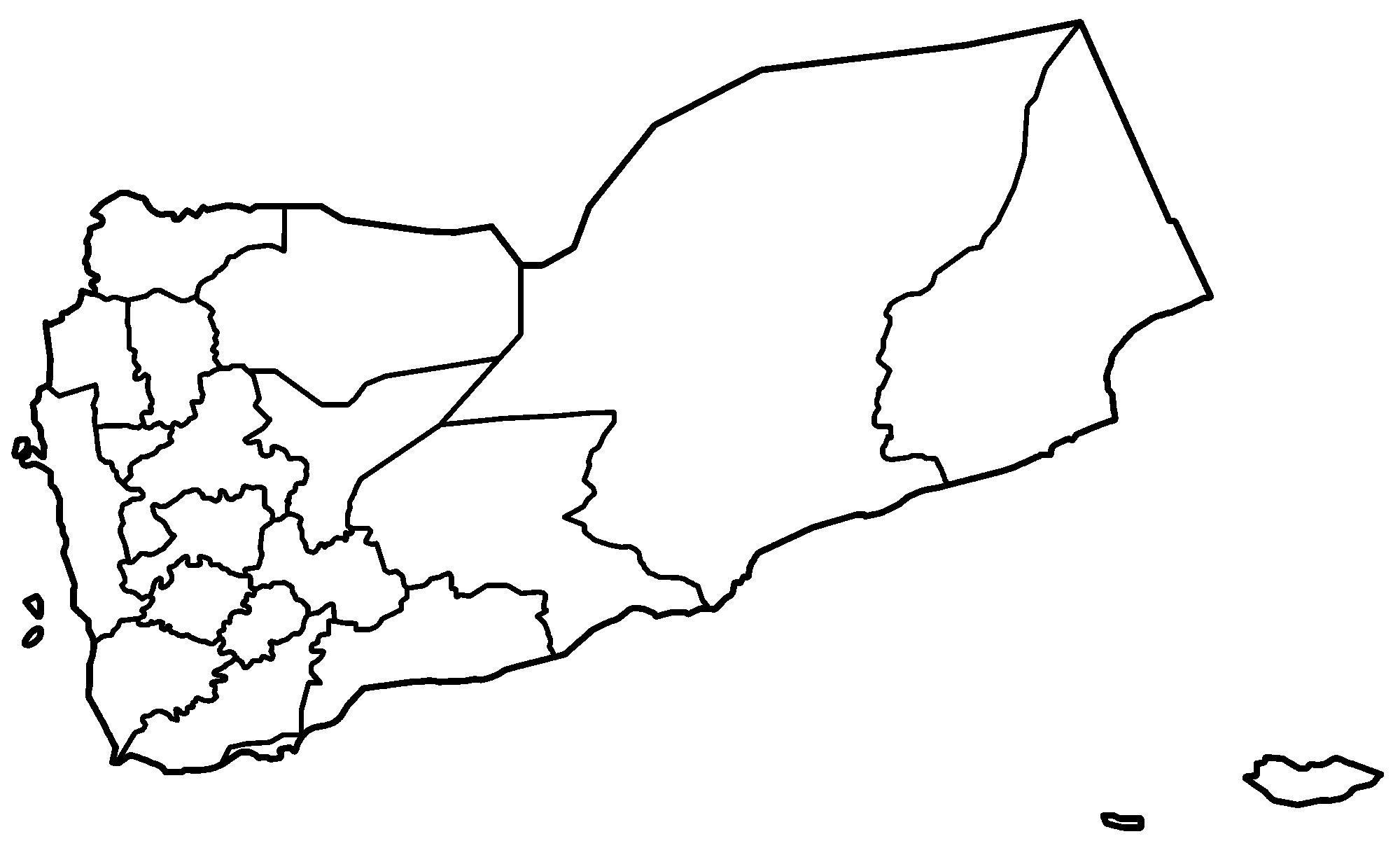 FileYemen Governorates Blankpng Wikimedia Commons - Yemen map png