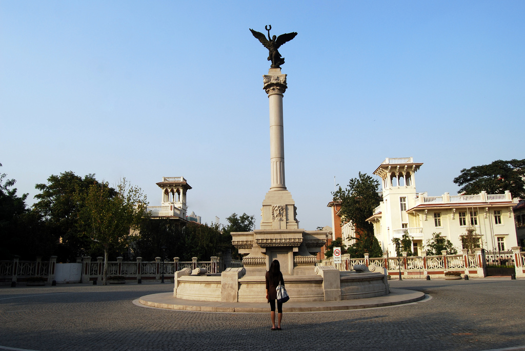 中國河北省天津的義大利租界,如今已改成「天津意式風情區」。