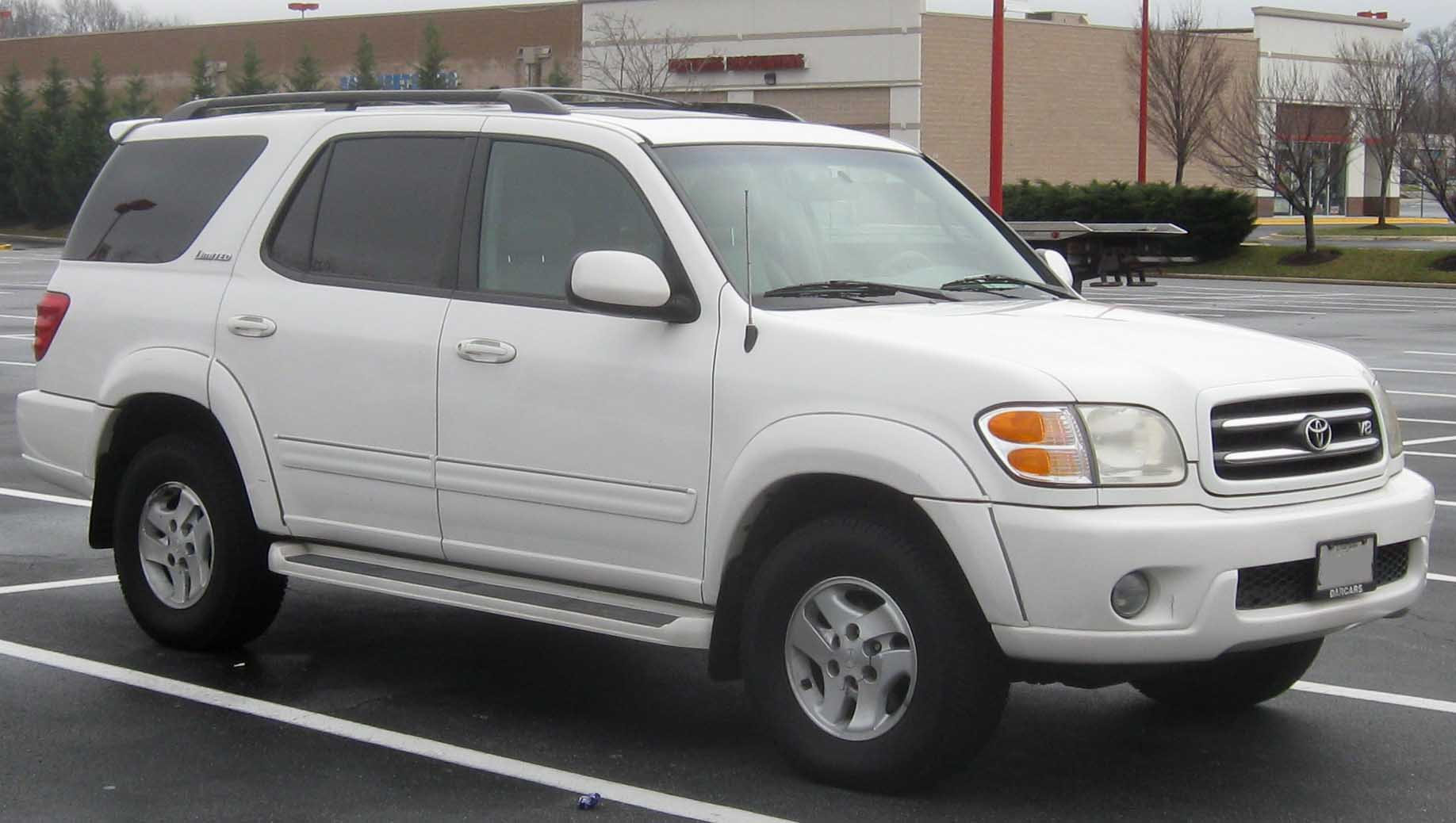 File:01-04 Toyota Sequoia Limited.jpg - Wikimedia Commons