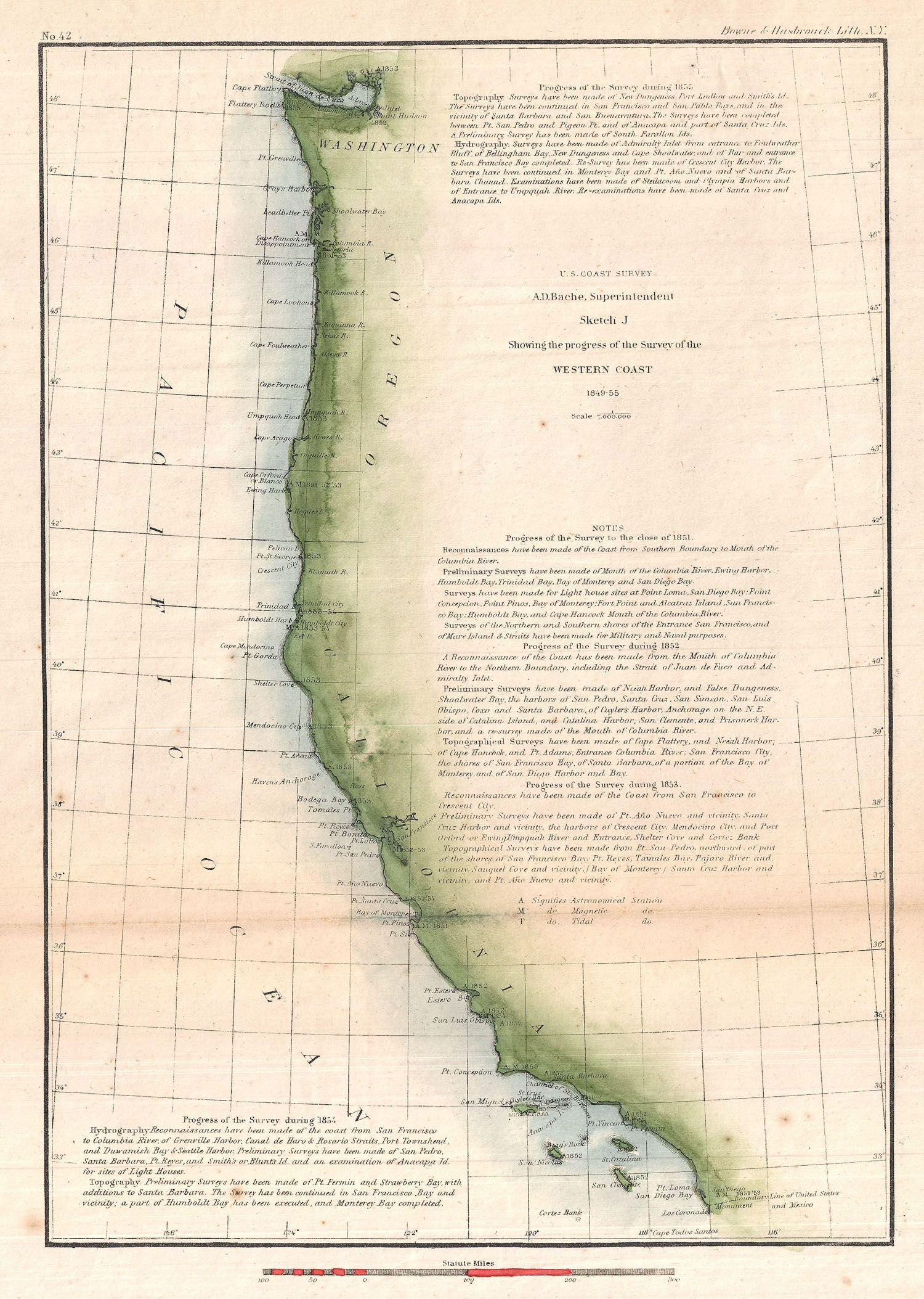 File 1855 u s c s map of the western coast of the united states