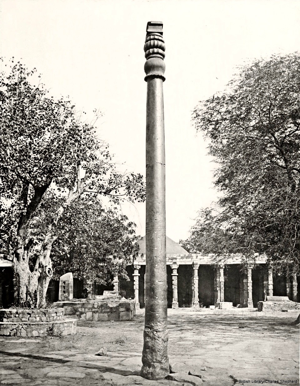 old Iron pillar image