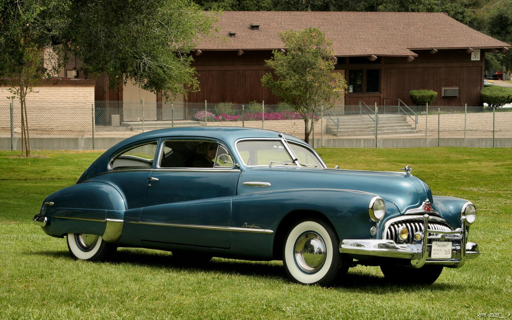 File 1948 Buick Roadmaster Blue Fvr Jpg Wikimedia