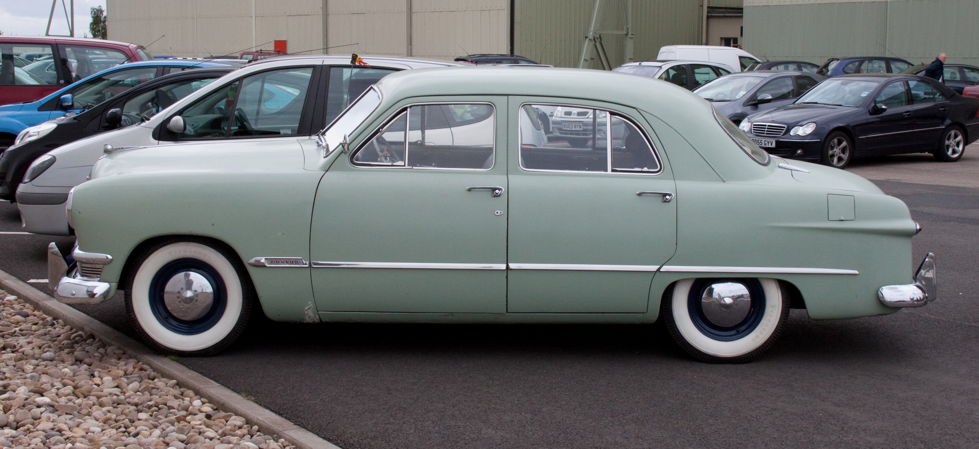 File 1950 Ford At Cosford 1 Jpg