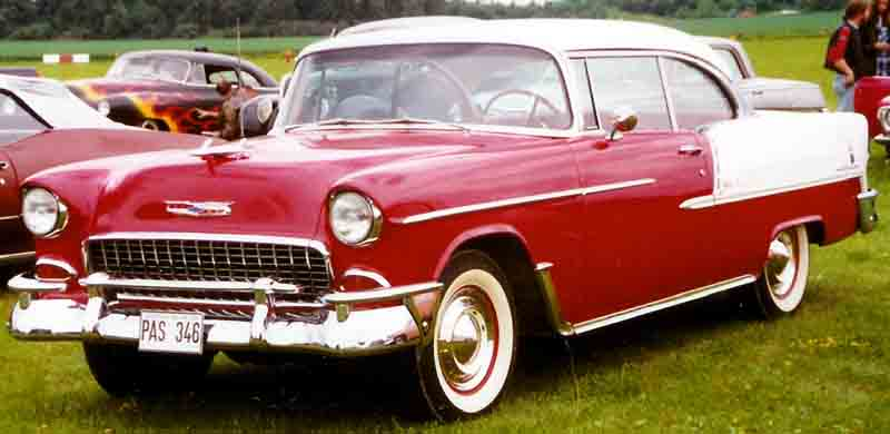 1955 Bel-Air Sport Coupe
