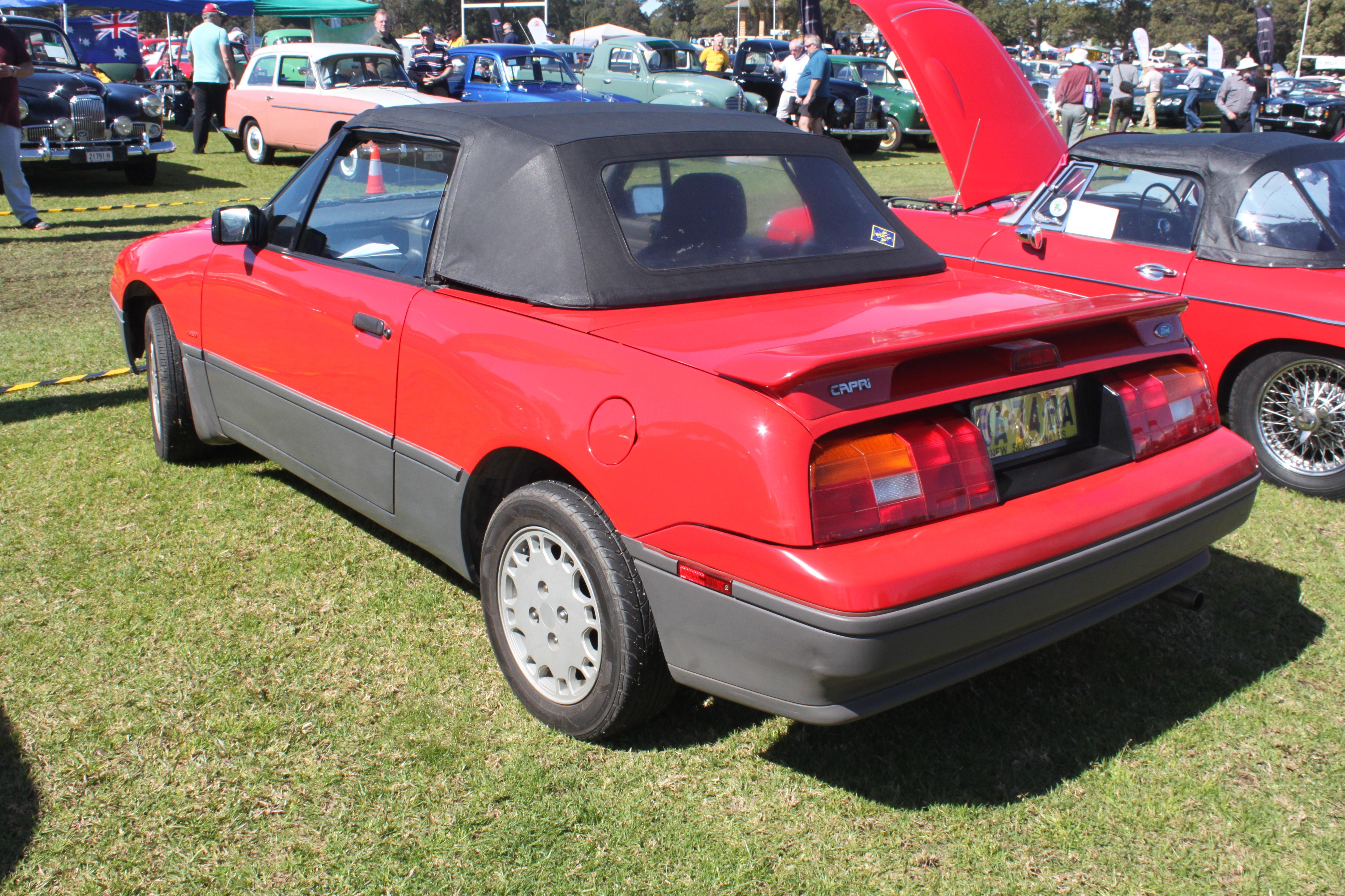 File 1989 Ford Capri Sa Turbo Convertible 21858542366 Jpg Wikimedia Commons