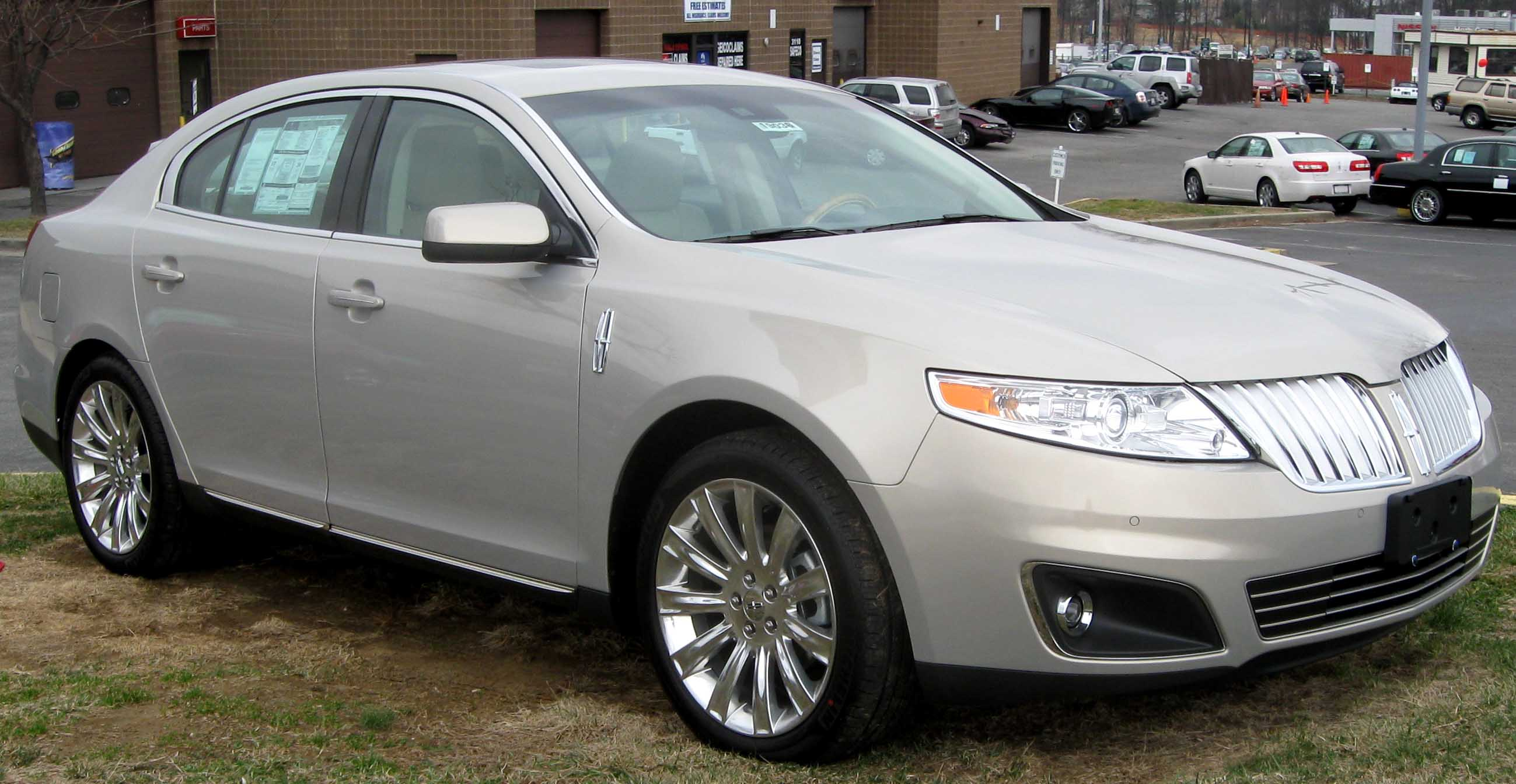 File 2009 Lincoln Mks Jpg Wikimedia Commons