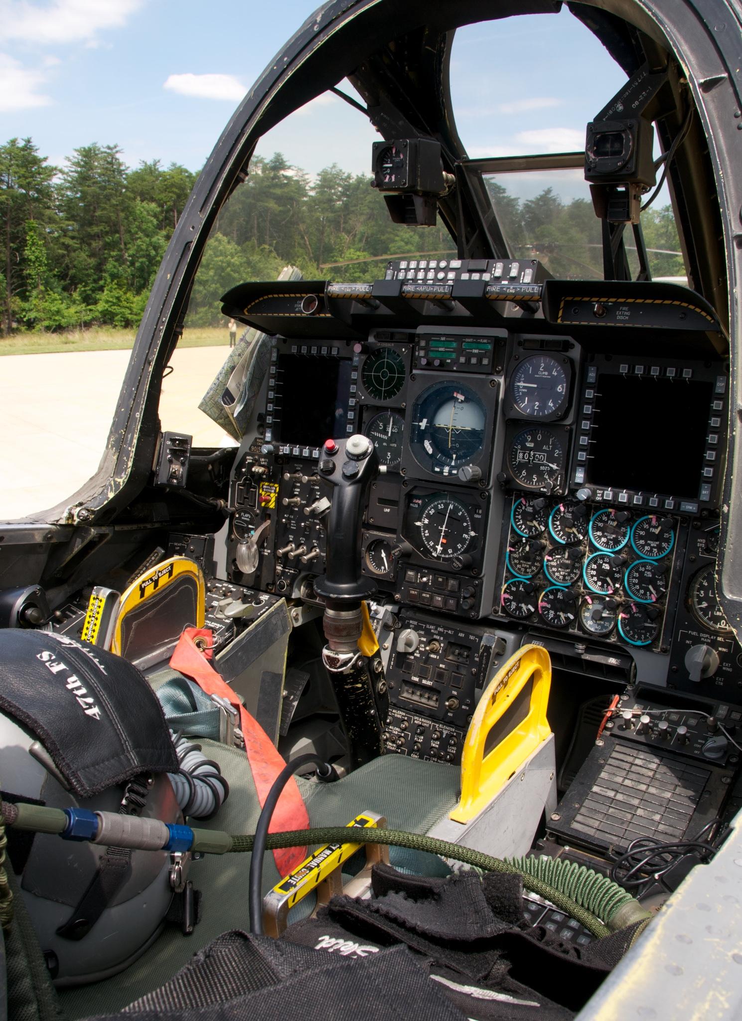 File:A-10C Warthog Cockpit.jpg - Wikimedia Commons