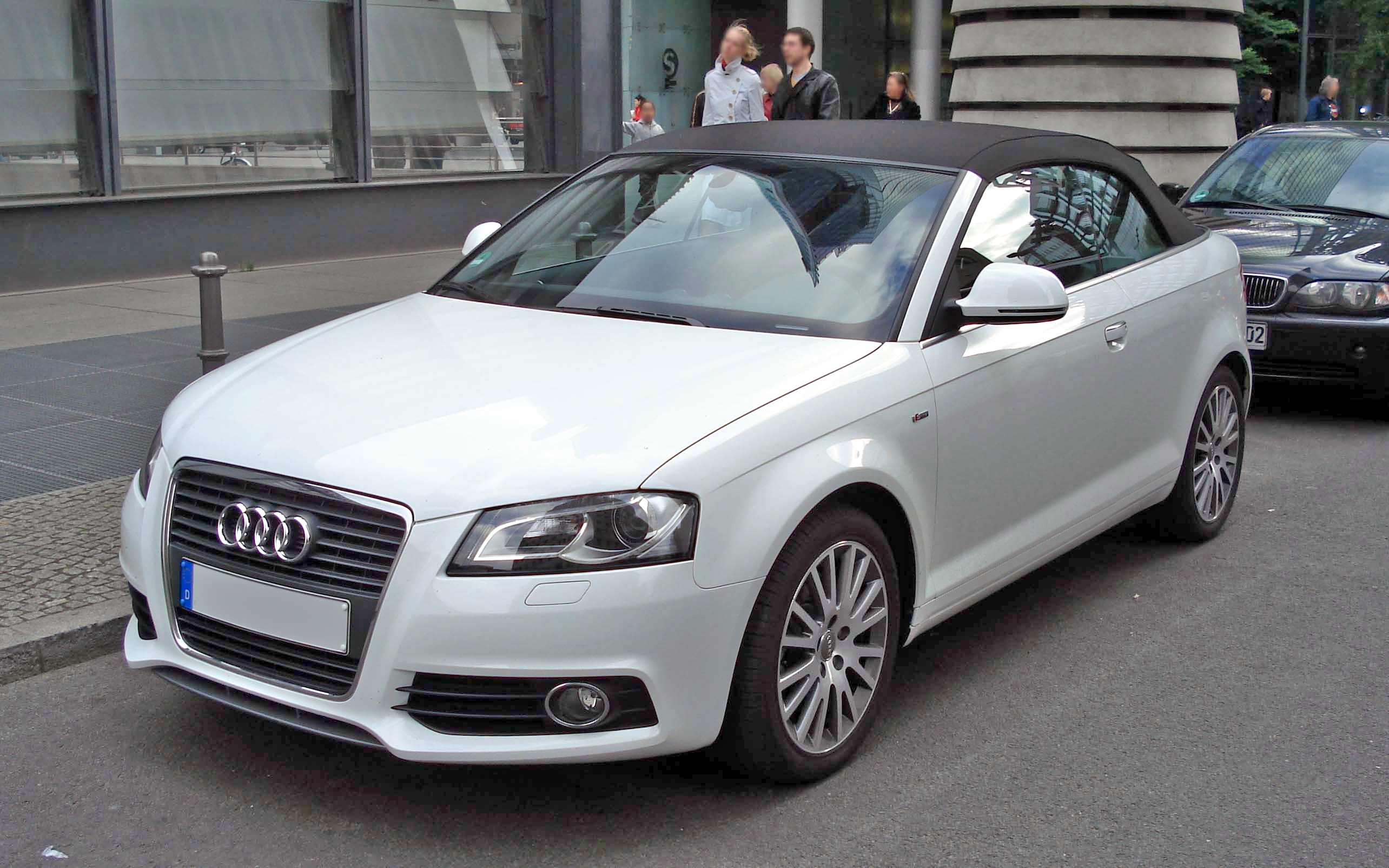 File A3 Cabrio Vl White Jpg Wikimedia Commons