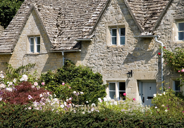 A Riverside Cottage, Bibury - geograph.org.uk - 1575499
