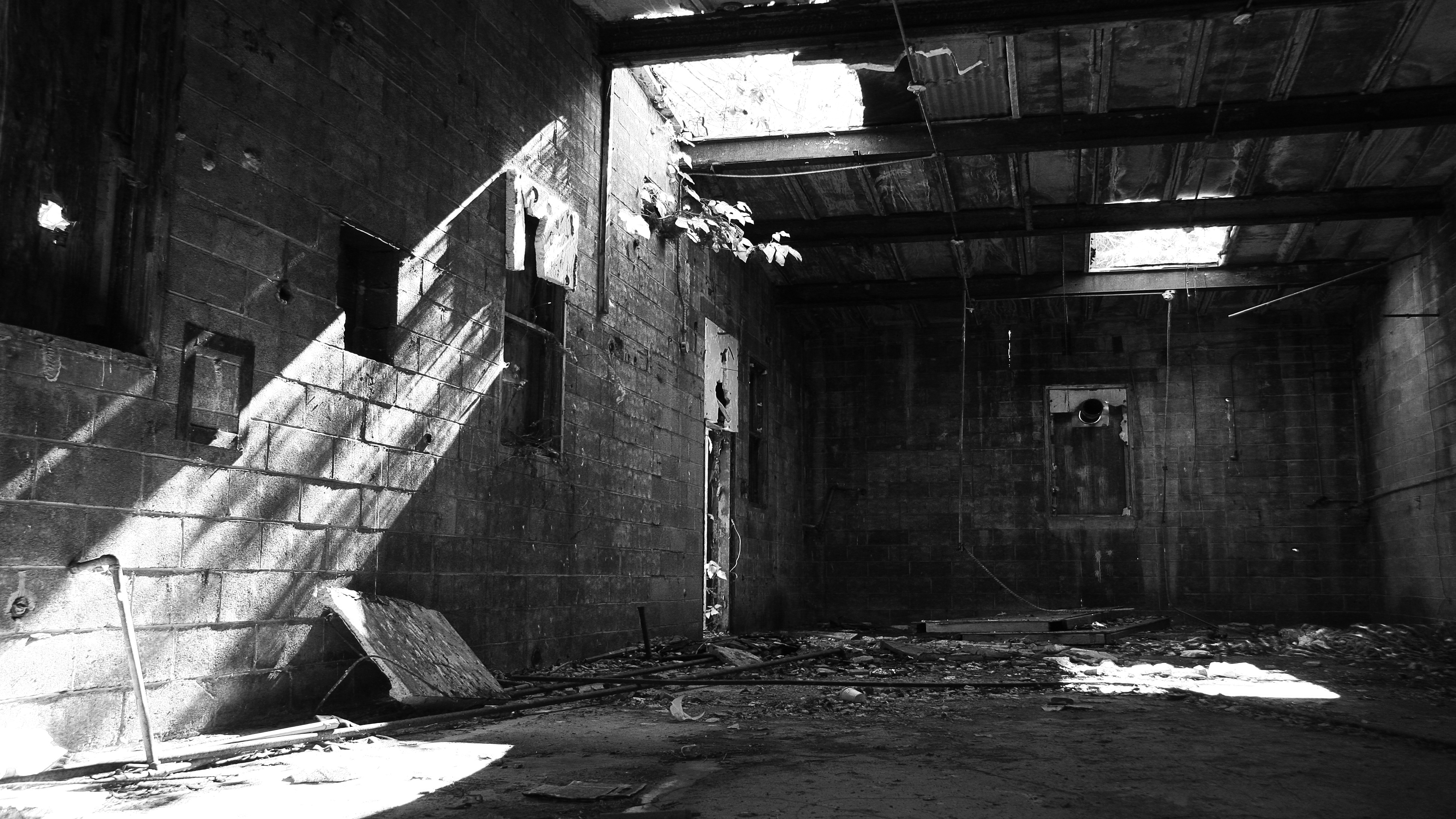 Abandoned places are the best for stripping 1