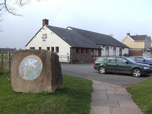 Alton Village Hall - geograph.org.uk - 1214087