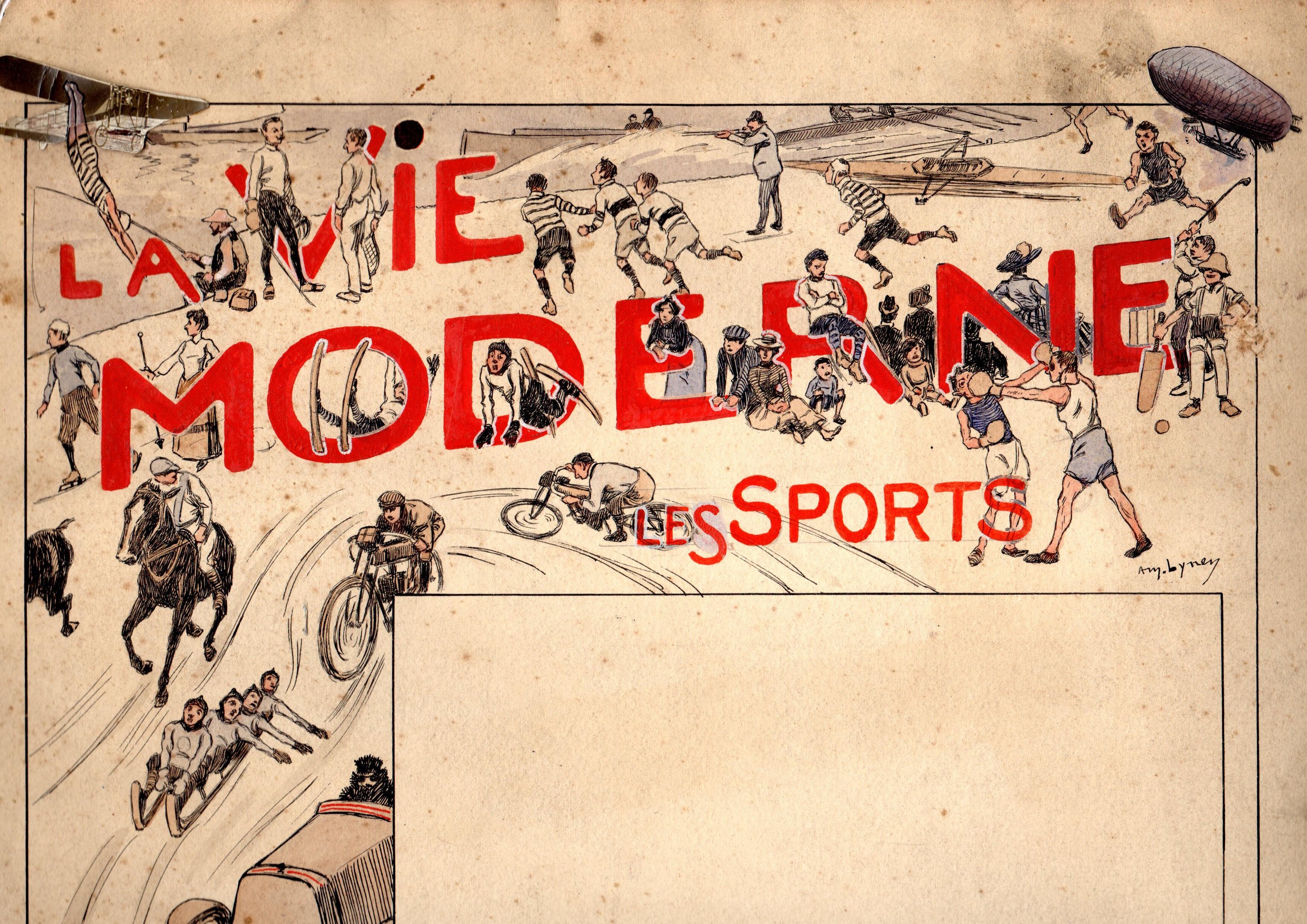 file amedee lynen la vie moderne les sports vers 1900 jpg wikimedia commons