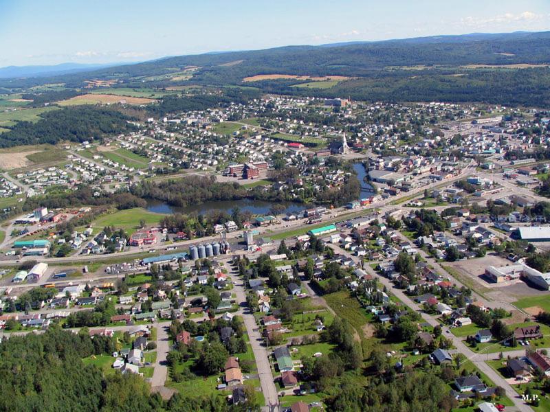 Canada – Un voyage de Québec vers la Gaspésie a travers les paroisses au 19 eme siècle Amqui