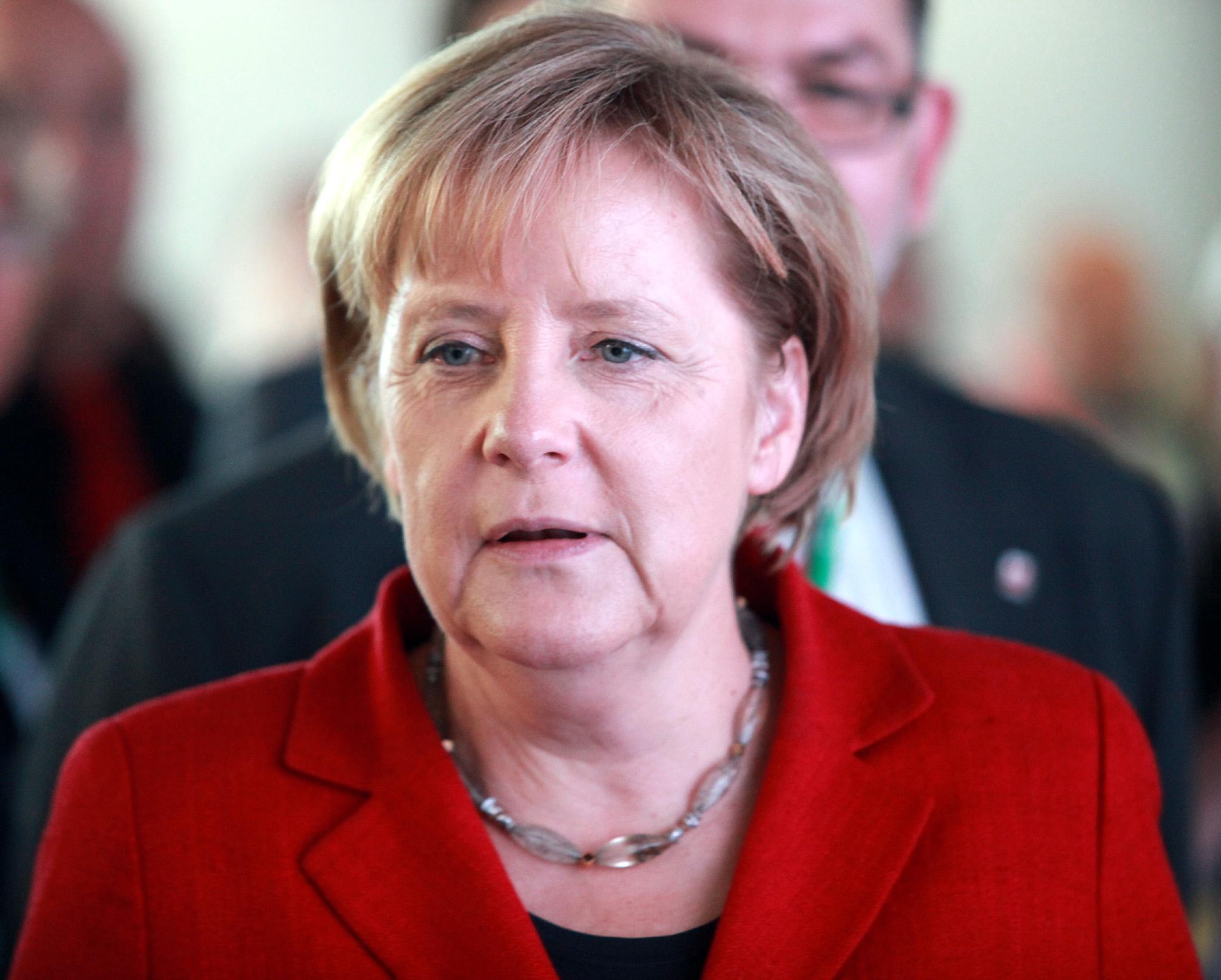 Angela Merkel Größe