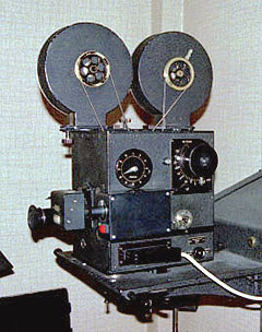 An animation camera manufactured by Crass, Berlin, in 1957.