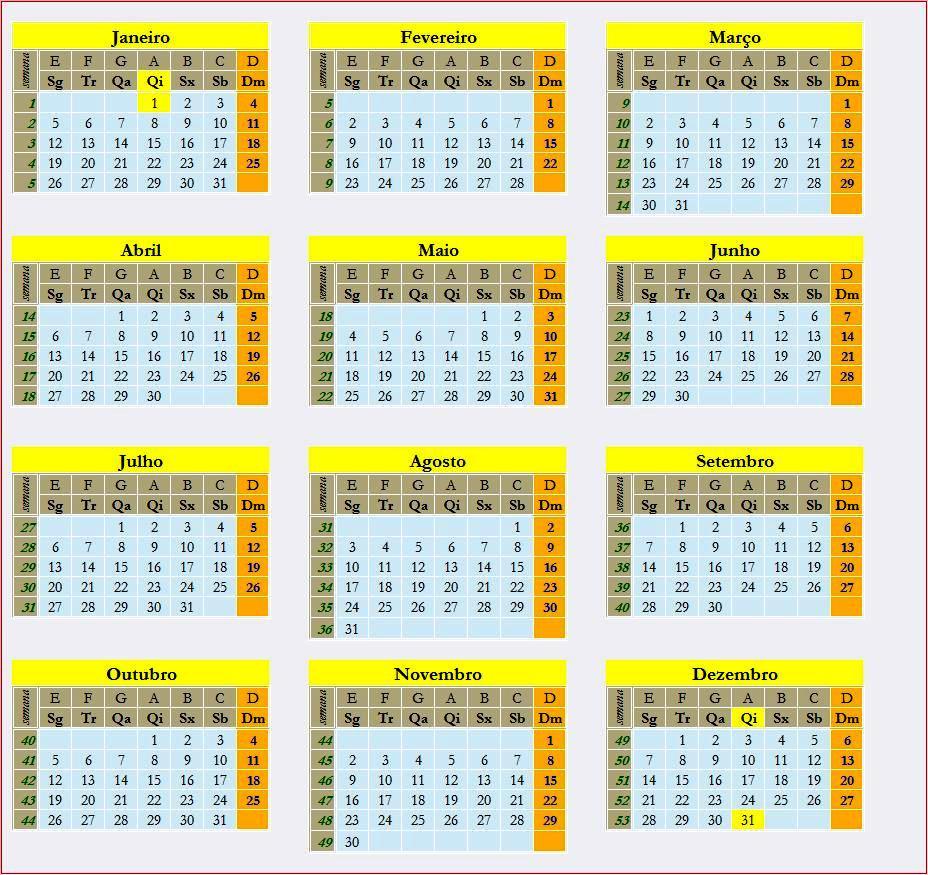 Calendario Del Ano Juliano 2016 | Calendar Template 2016