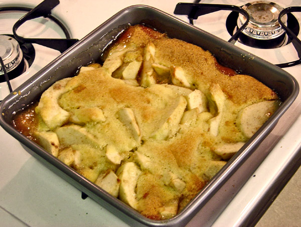 Apple Cobbler With Betty Crocker Cake Mix