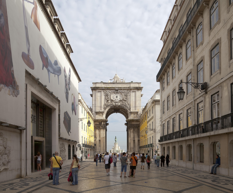 Archivo:Arco Triunfal da Rua Augusta, Plaza del Comercio, Lisboa ...