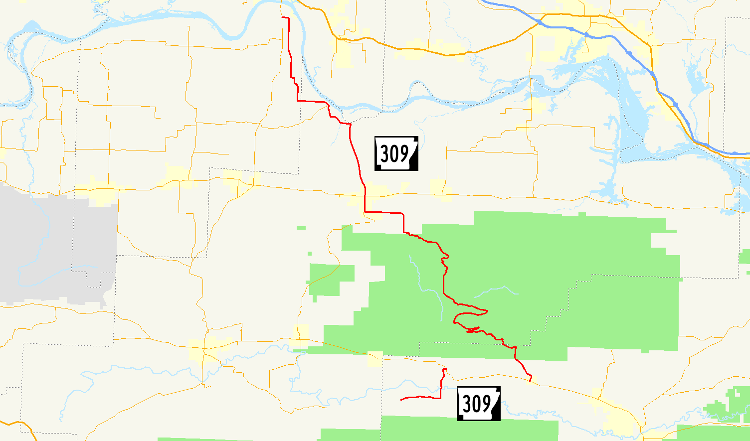 Arkansas Highway 309 - Wikipedia